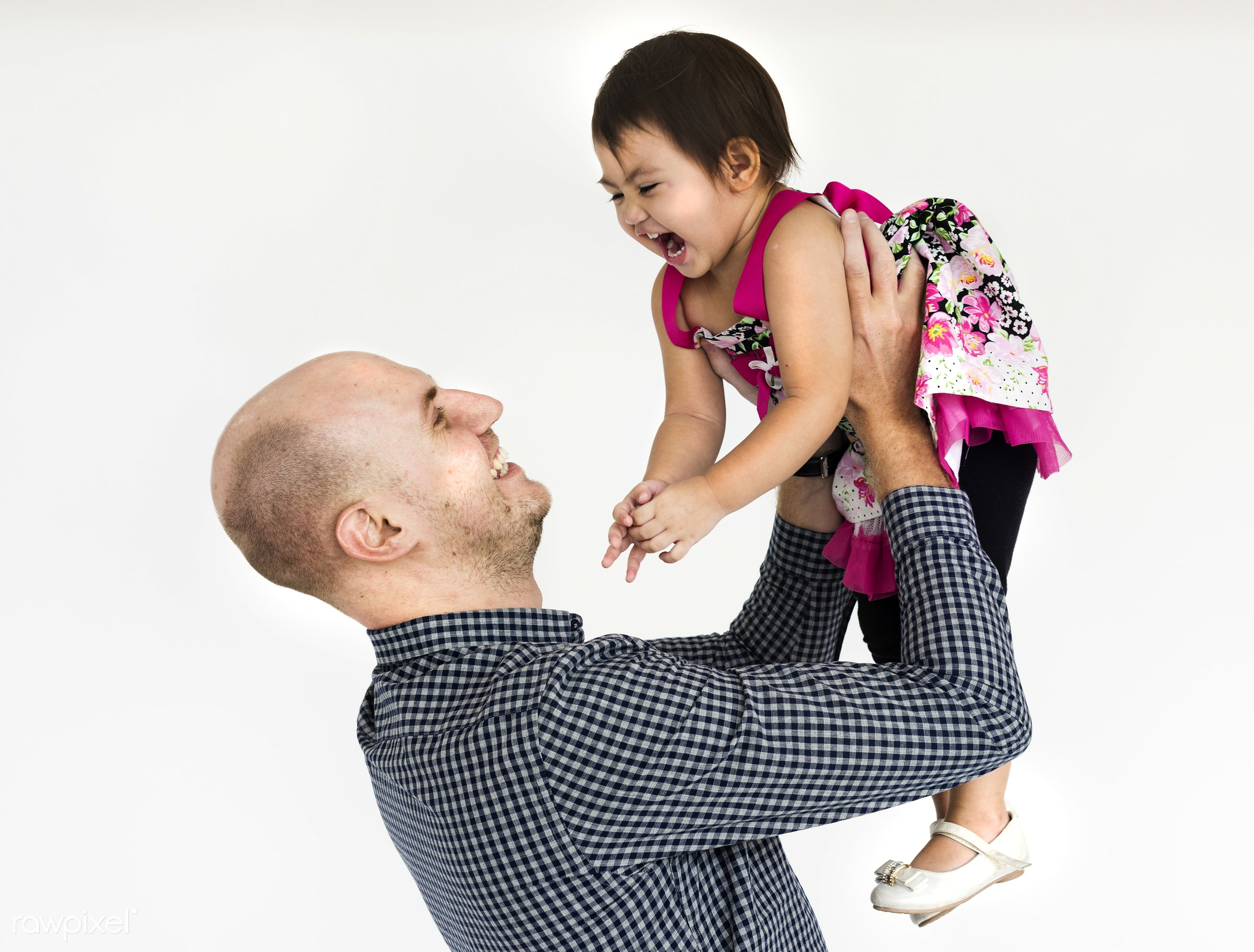 studio, expression, person, people, kid, love, family, childhood, smile, cheerful, smiling, isolated, white, happiness,...