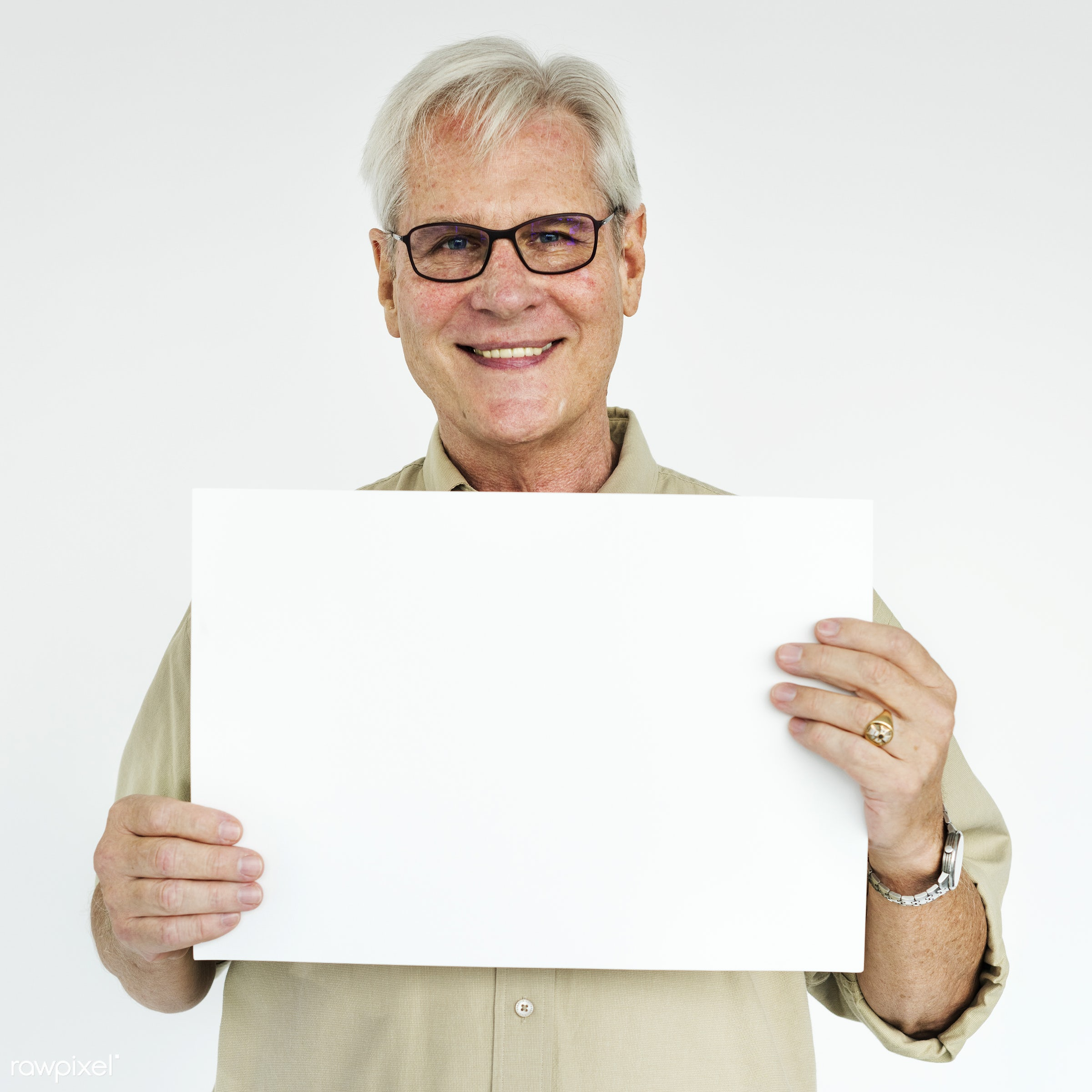 studio, person, holding, show, people, displaying, caucasian, placard, empty, positive, smile, cheerful, smiling, copy,...