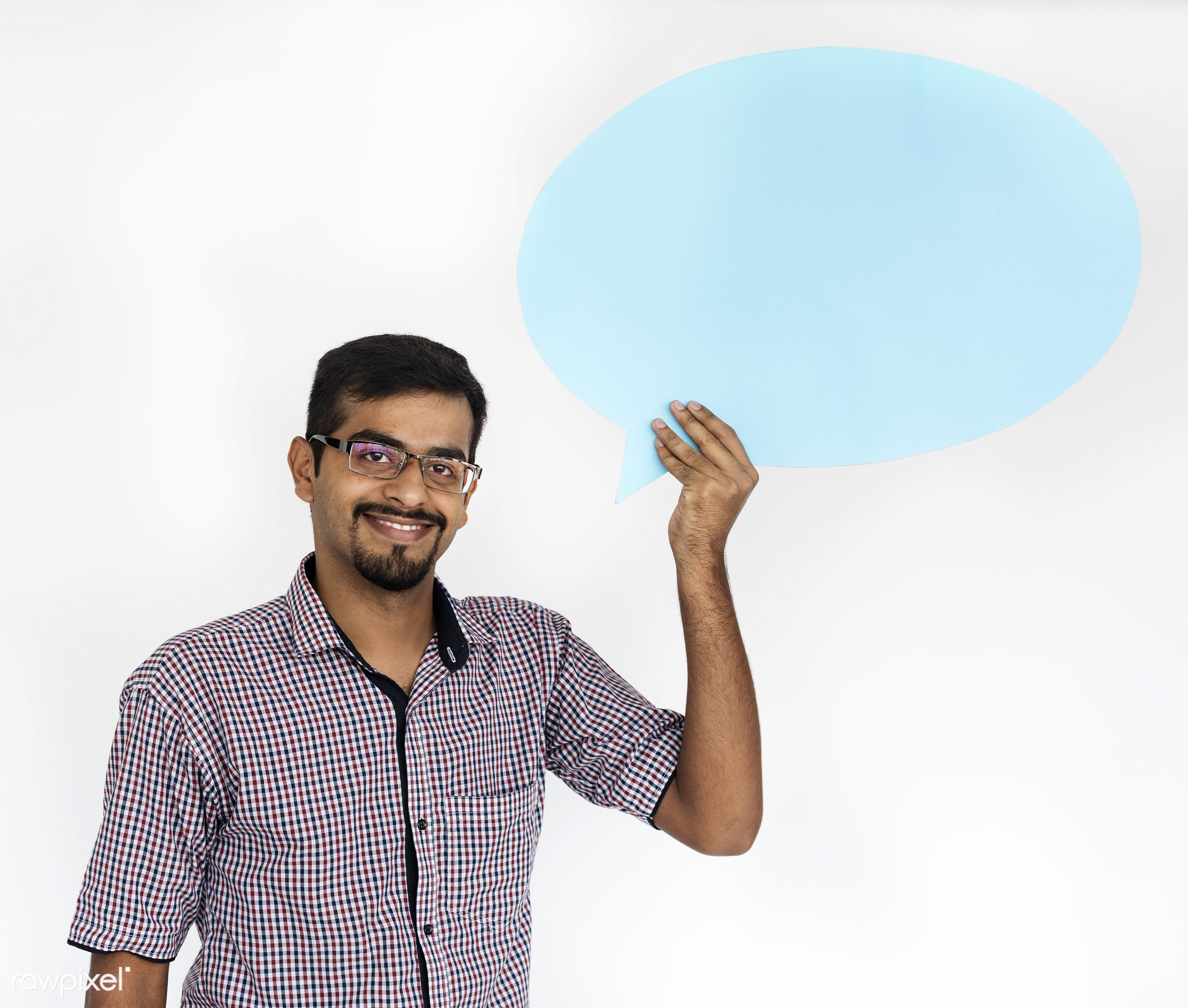 studio, person, holding, show, people, displaying, placard, empty, smile, positive, cheerful, smiling, copy, isolated, hold...