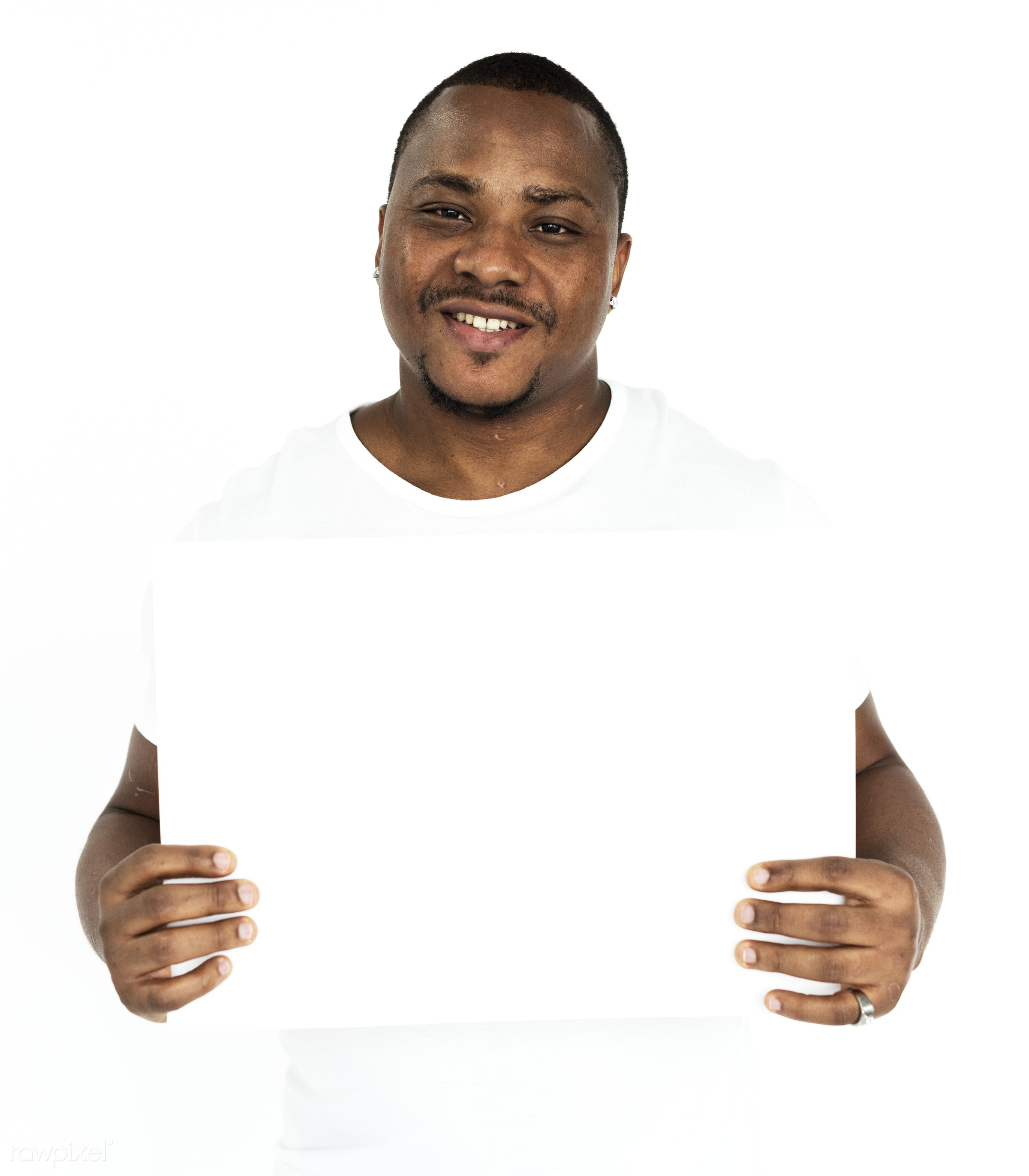 studio, person, holding, show, people, displaying, placard, empty, positive, smile, cheerful, smiling, copy, isolated,...