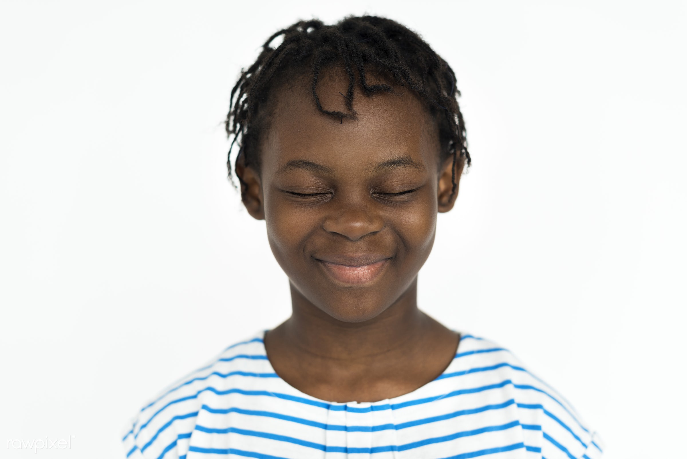 studio, expression, person, people, kid, childhood, smile, cheerful, smiling, isolated, african descent, white, happiness,...