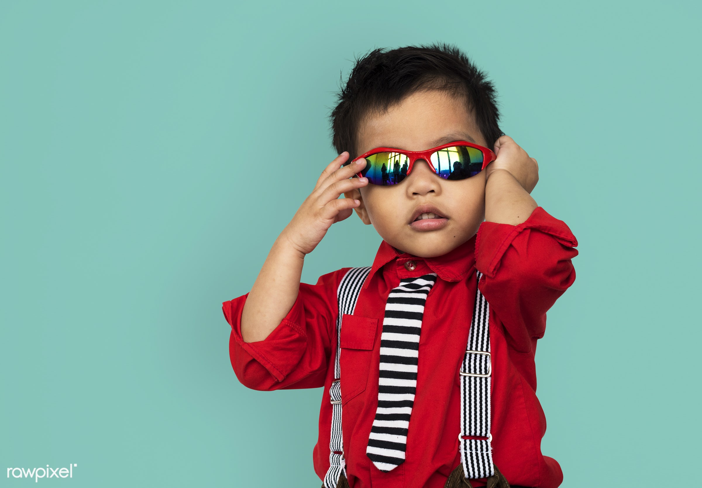 studio, expression, person, people, asian, kid, childhood, smile, cheerful, smiling, tint, happiness, sunglasses, portrait,...