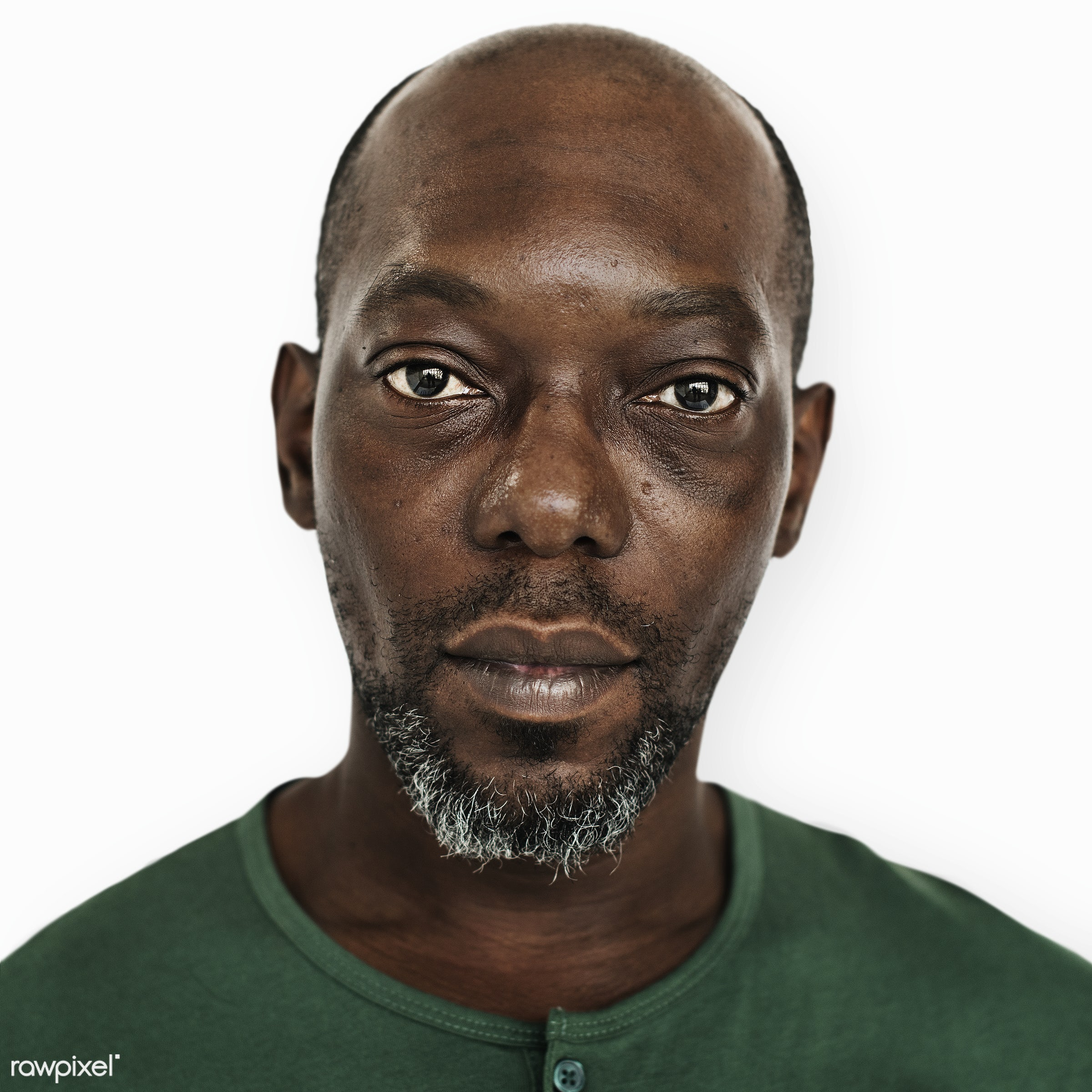 Portrait of a Congolese man - african, african descent, alone, black, congo, congolese, descent, emotion, expression, guy,...