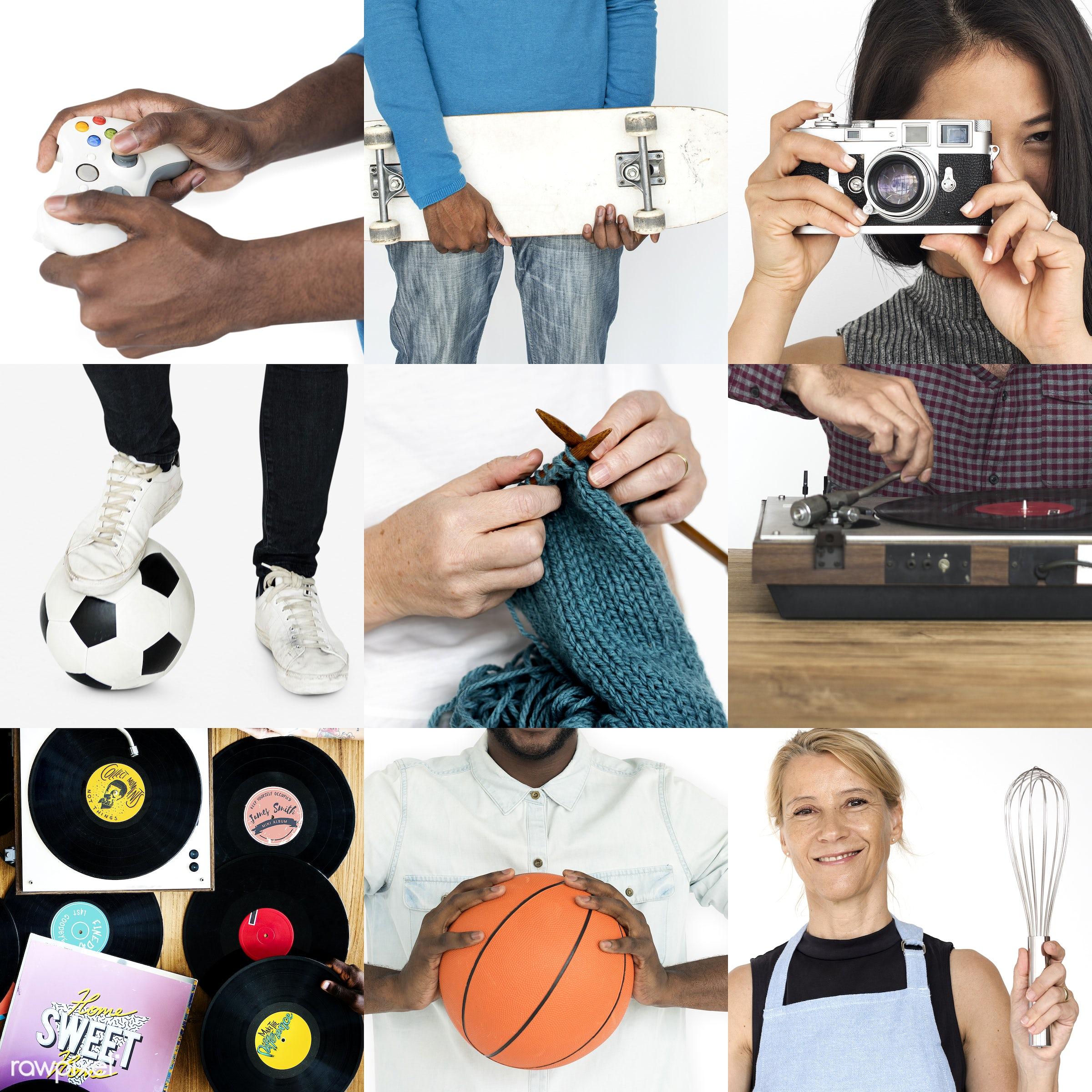 different, leisure activity, diverse, variation, leisure time, recreation, people, race, integration, interest, gender,...