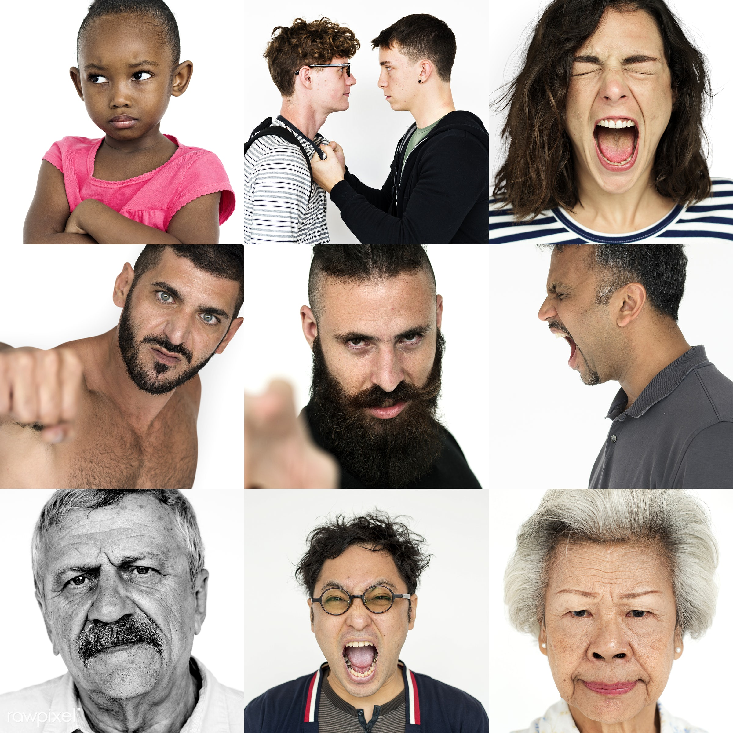 different, voice, diverse, announce, variation, angry, loudspeaker, people, race, mad, upset, integration, gender, screaming...