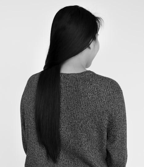 Asian Woman Beautiful Look Concept