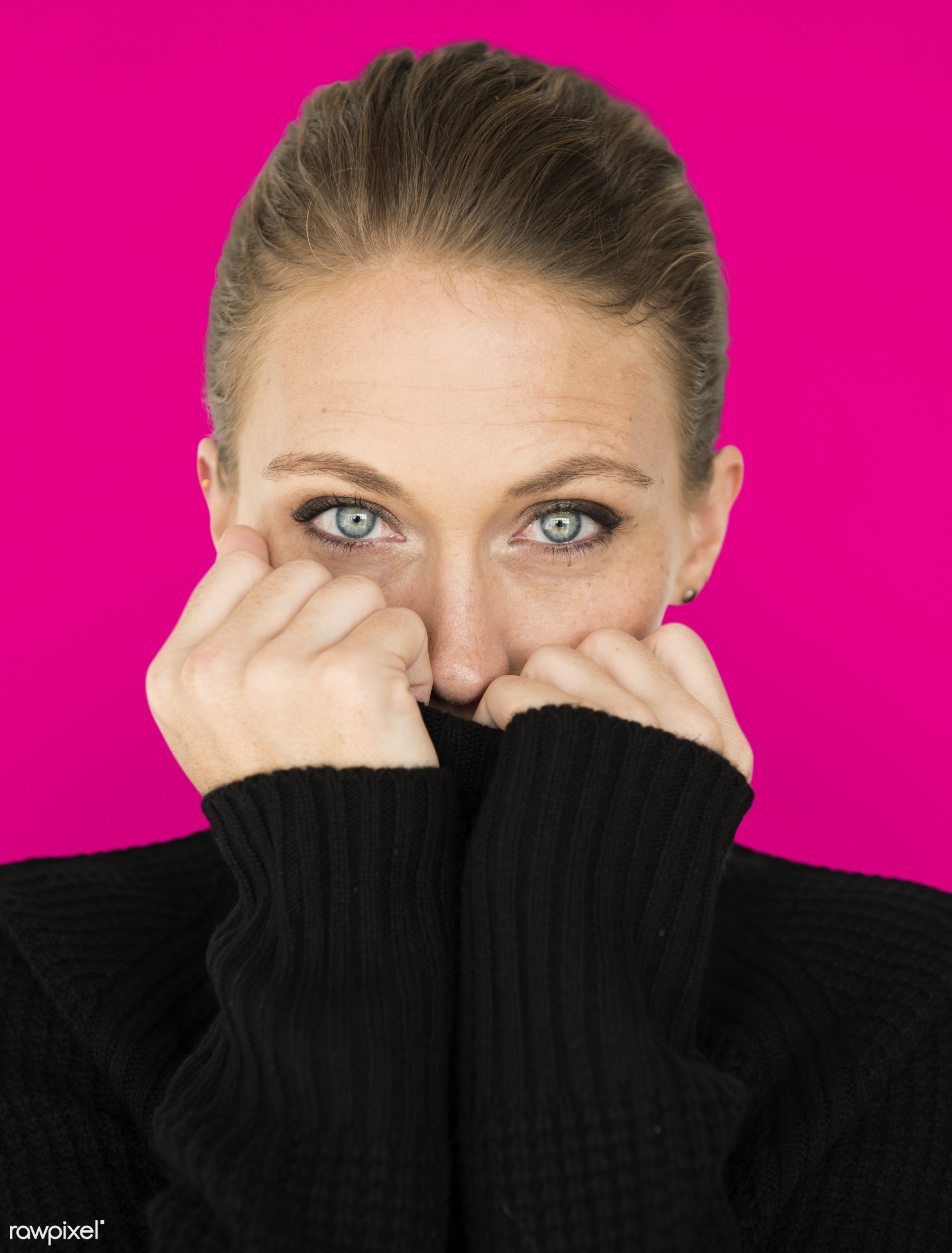 adult, background, beauty, cardigan, casual, charming, cold, cute, emotion, emotional, expression, face, female, girl,...