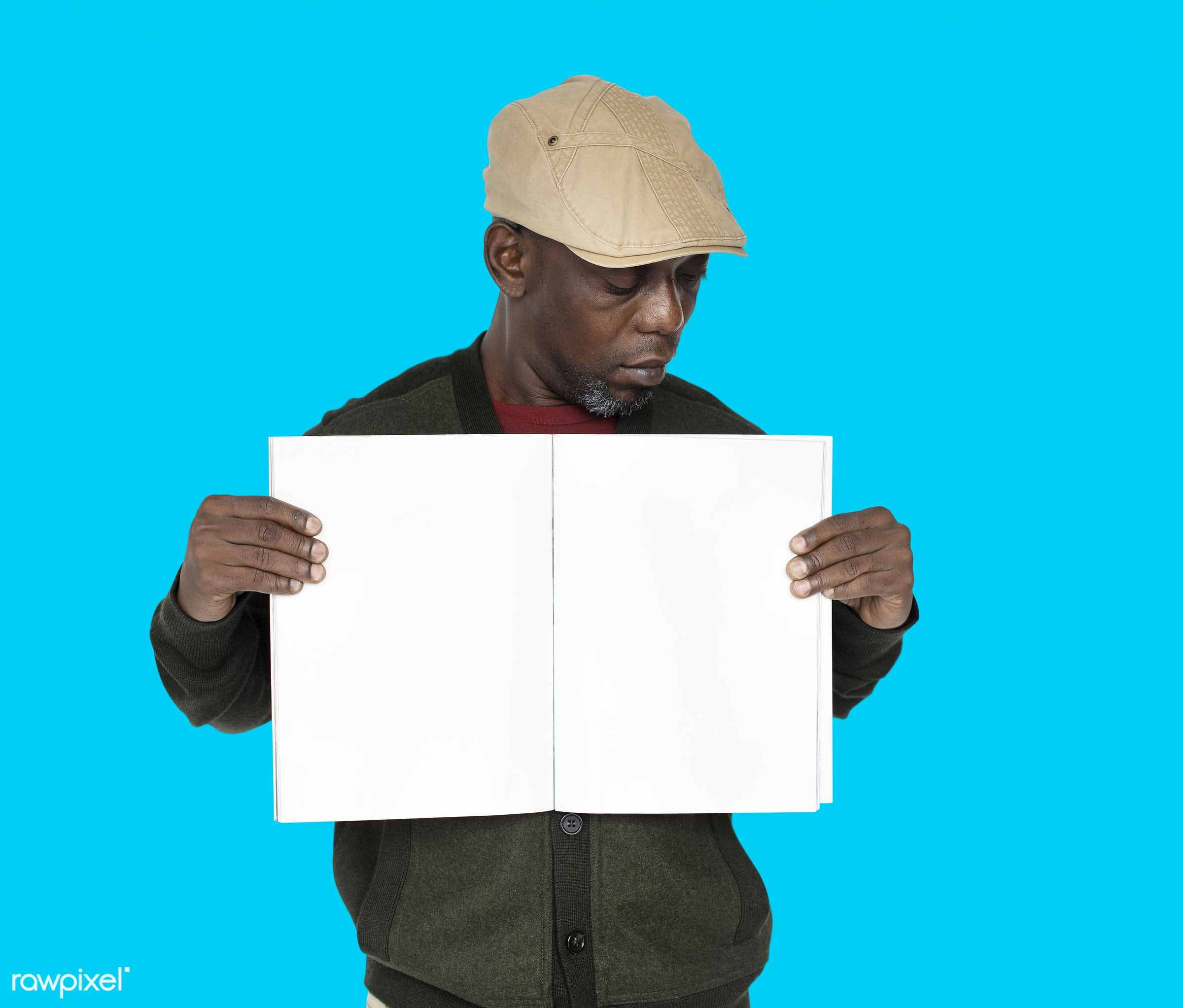 studio, expression, person, model, copyspace, holding, paper, advertising, people, looking, style, casual, empty, showing,...