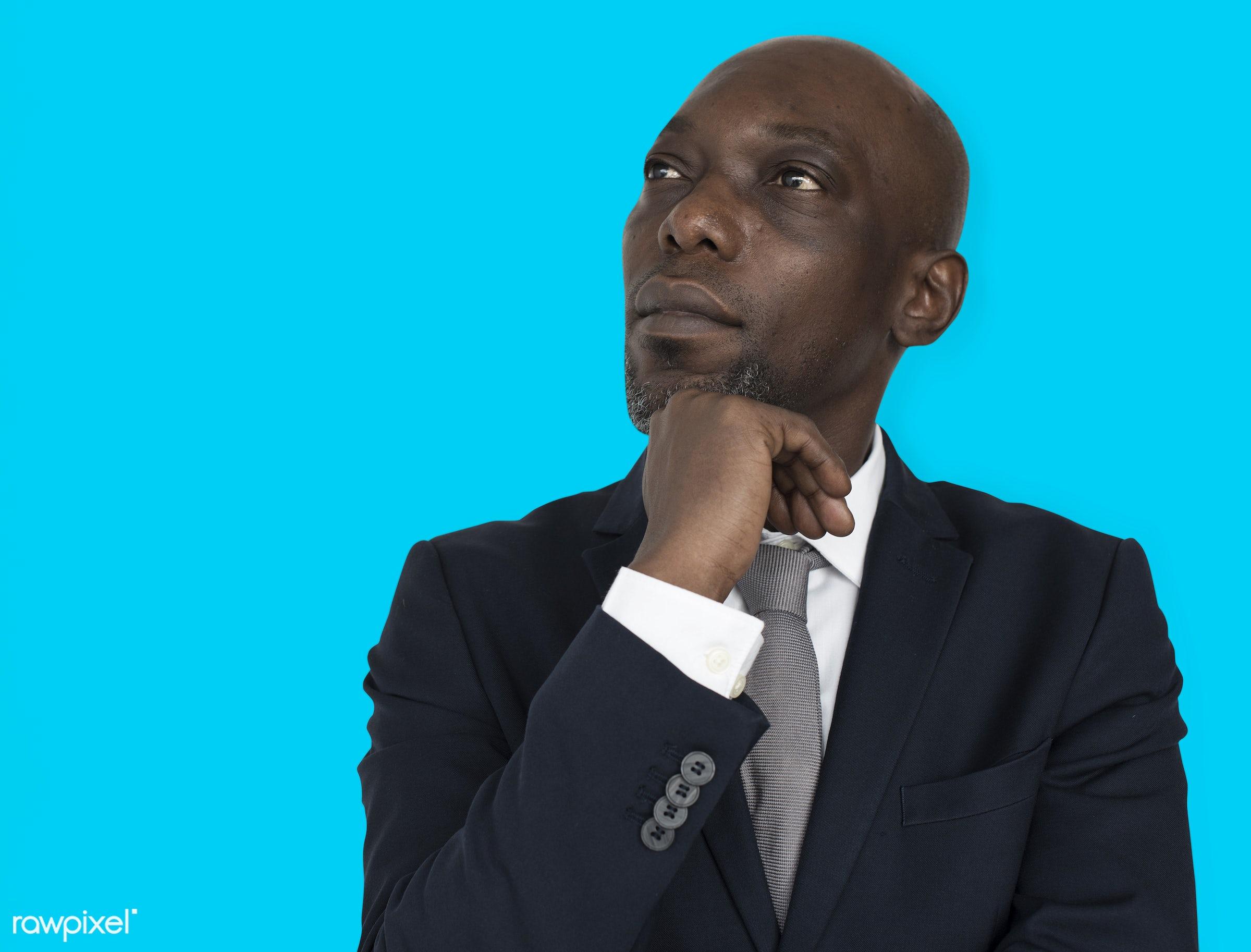 black, african american, african, man, male, business, suit, tie, professional, portrait