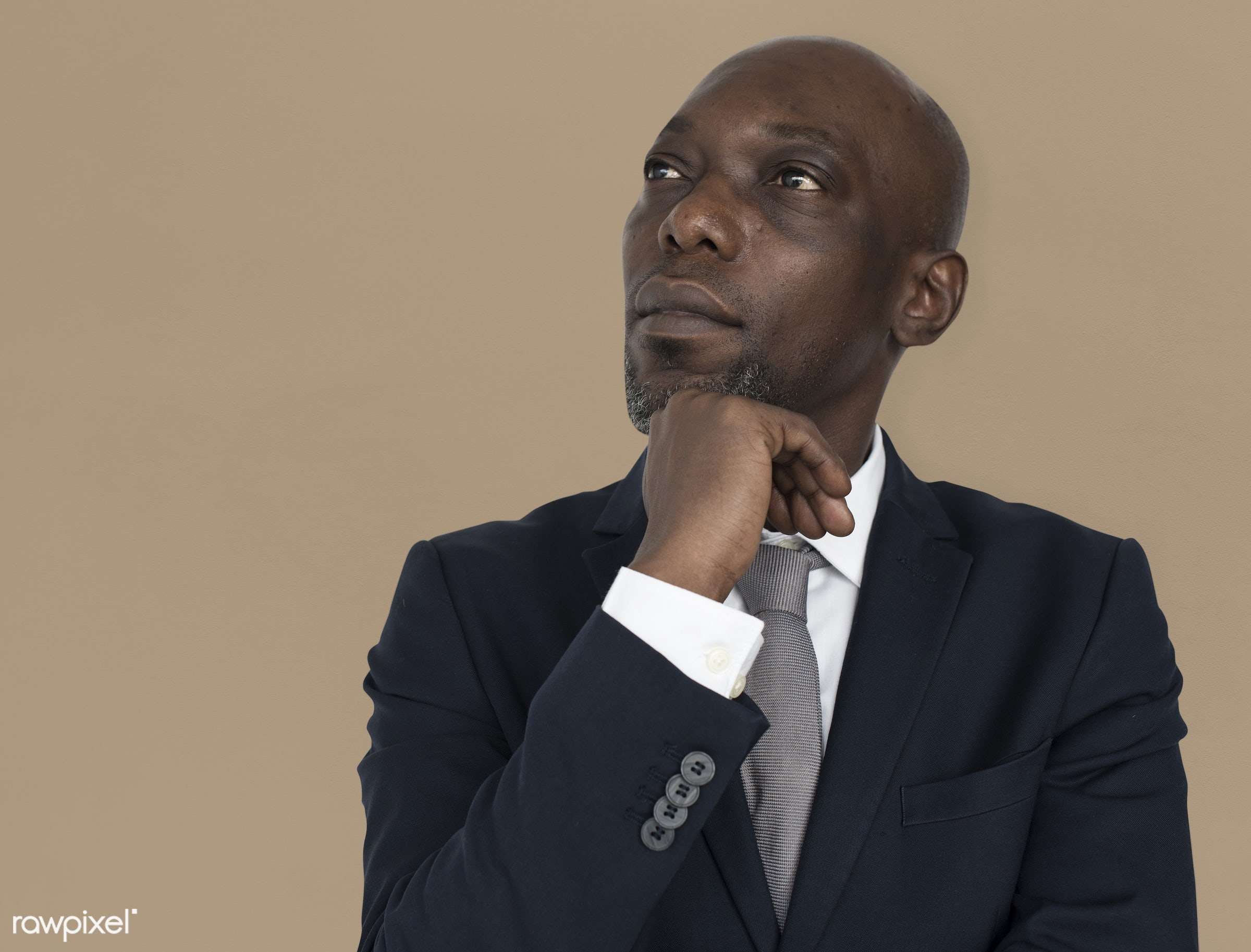 black, african, african american, suit, tie, portrait, business, businessman, professional, think