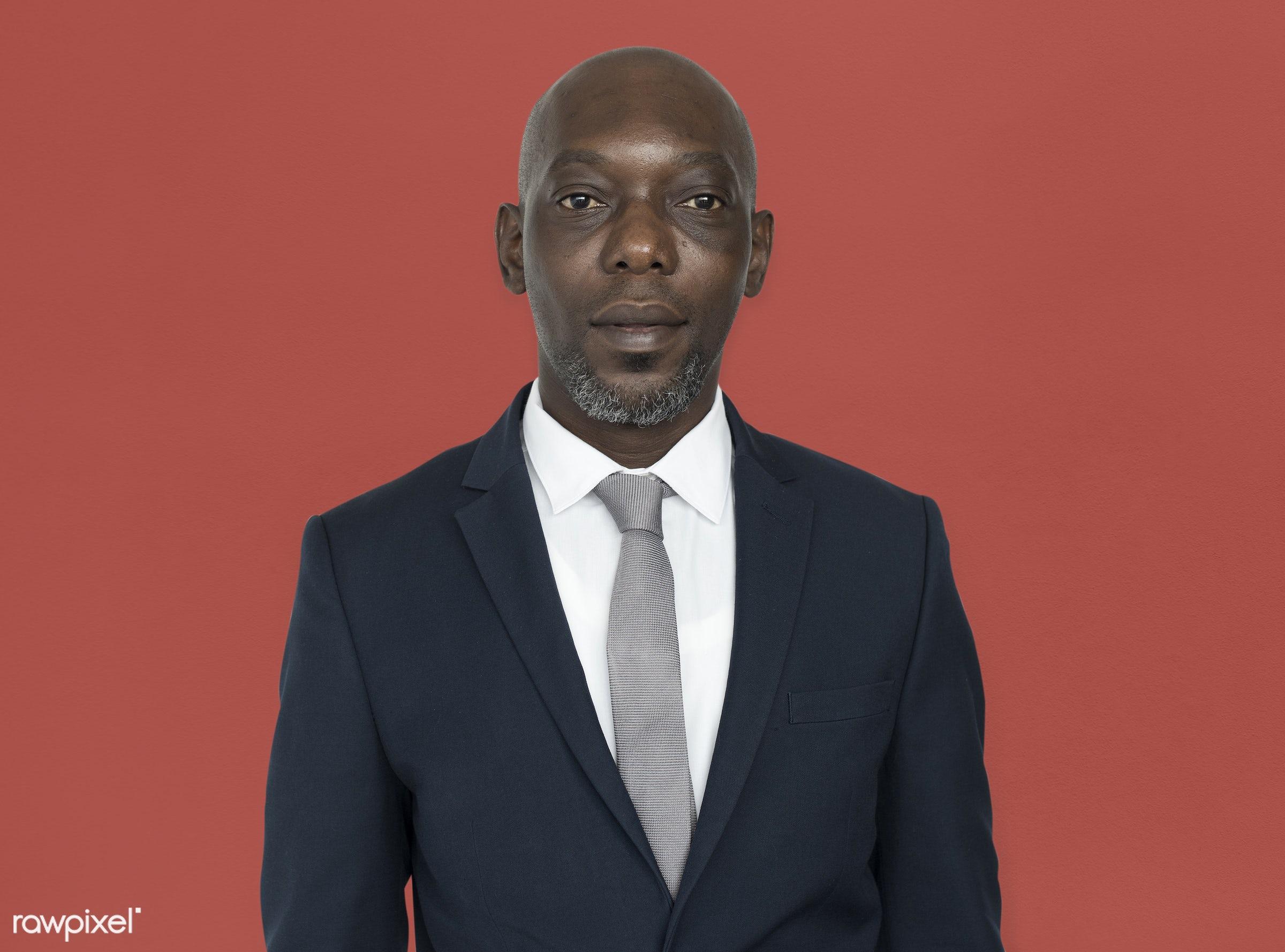 black, african, african american, man, male, portrait, professional, business, businessman, suit, tie