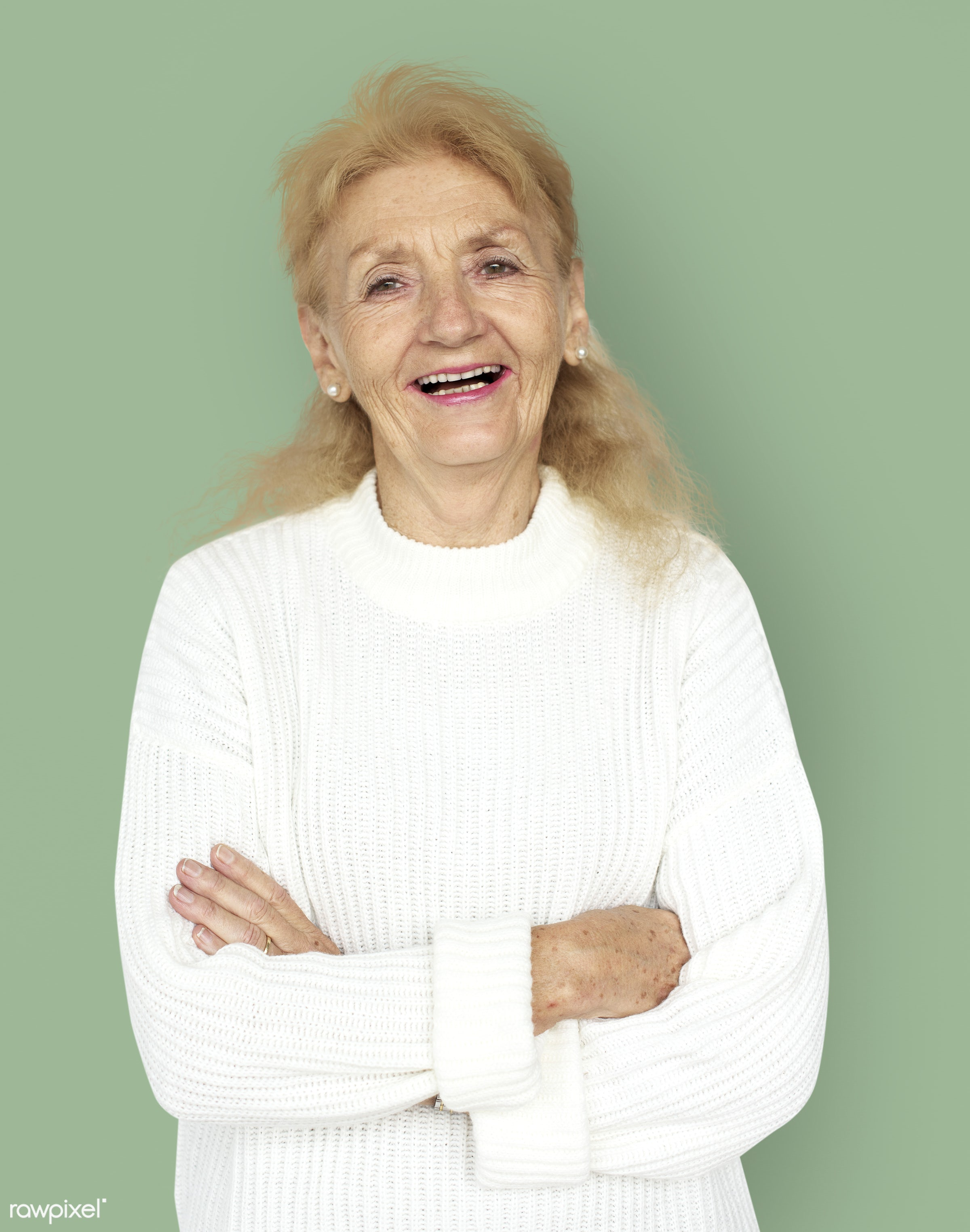 expression, studio, person, freedom, relax, people, caucasian, retirement, woman, lifestyle, westerner, positive, cheerful,...