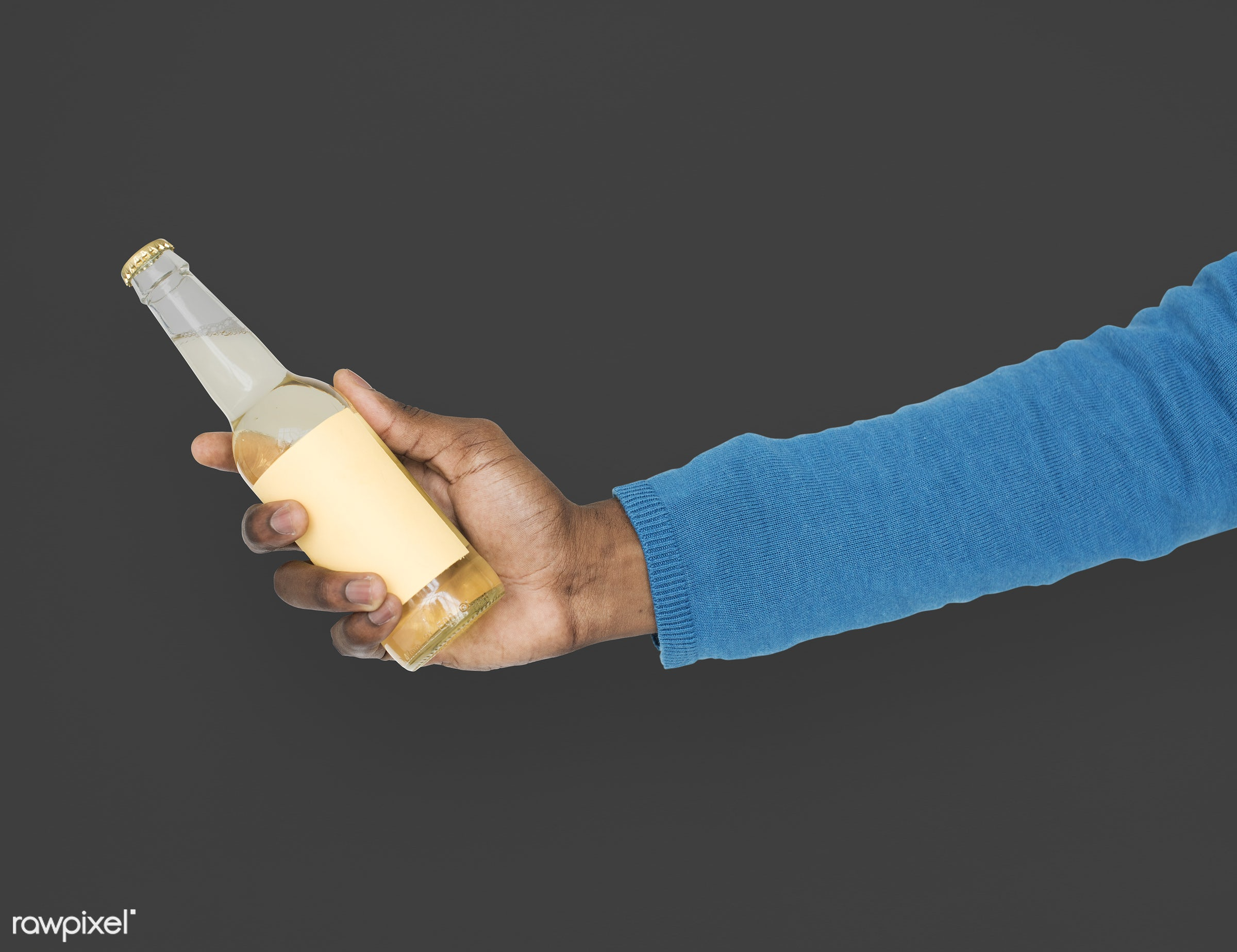 person, party, race, hand, beer, cold, showing, celebrate, black, isolated, african descent, refreshment, gesture, human,...