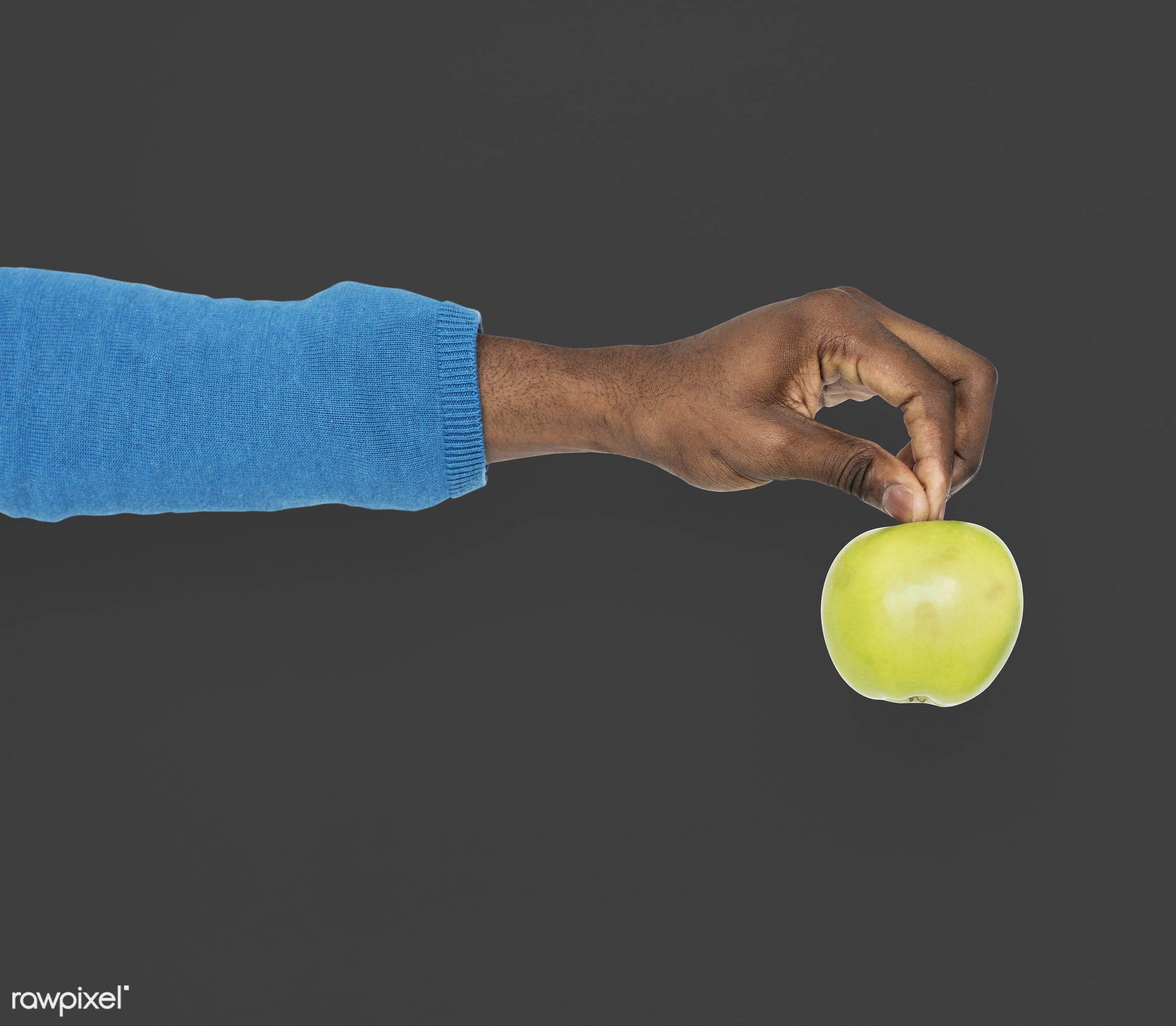person, diet, race, hand, nature, wellness, lifestyle, showing, black, isolated, fruit, african descent, gesture, human,...