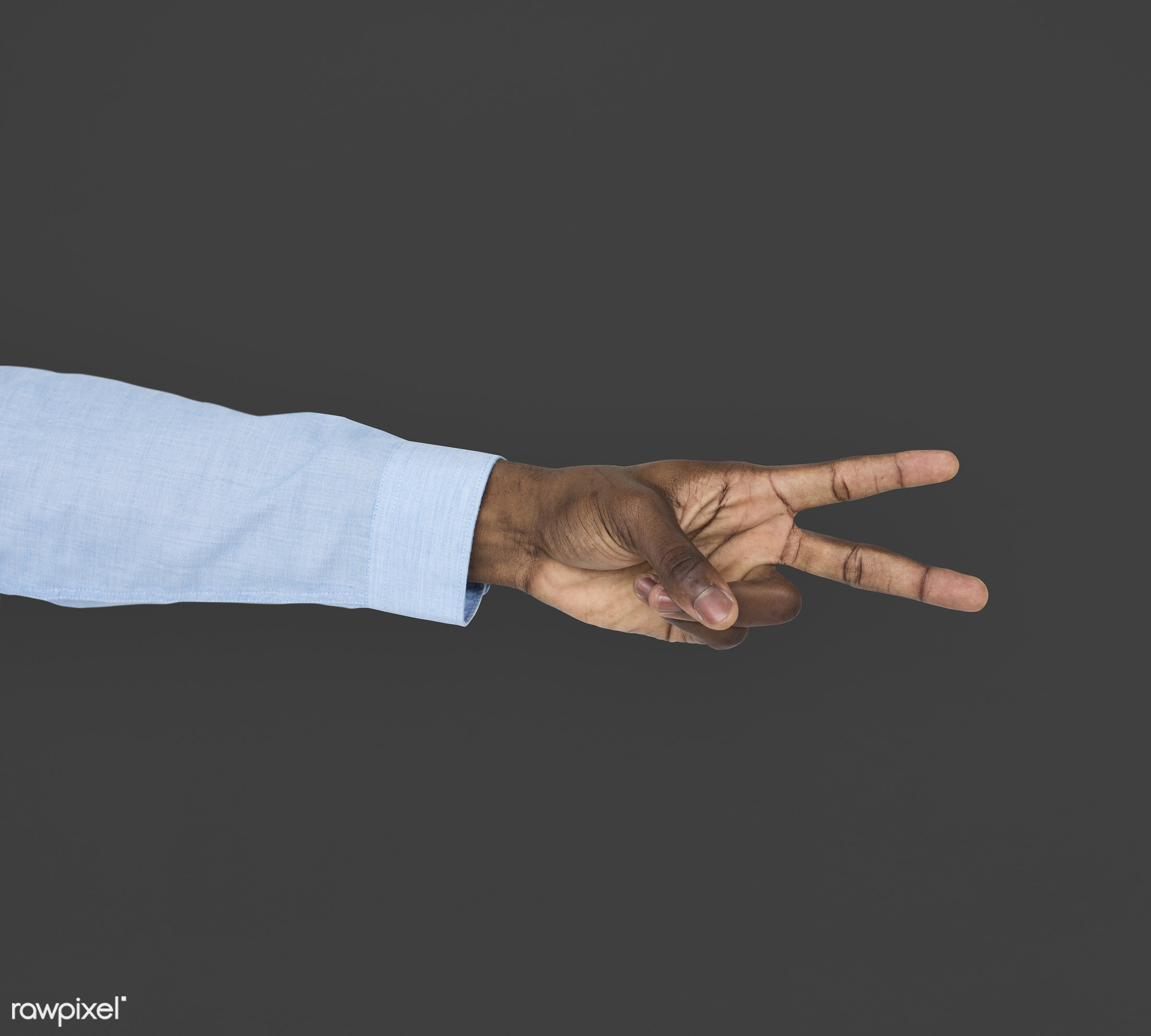 person, race, hand, cheer up, showing, black, victory, isolated, african descent, gesture, human, v, african american,...
