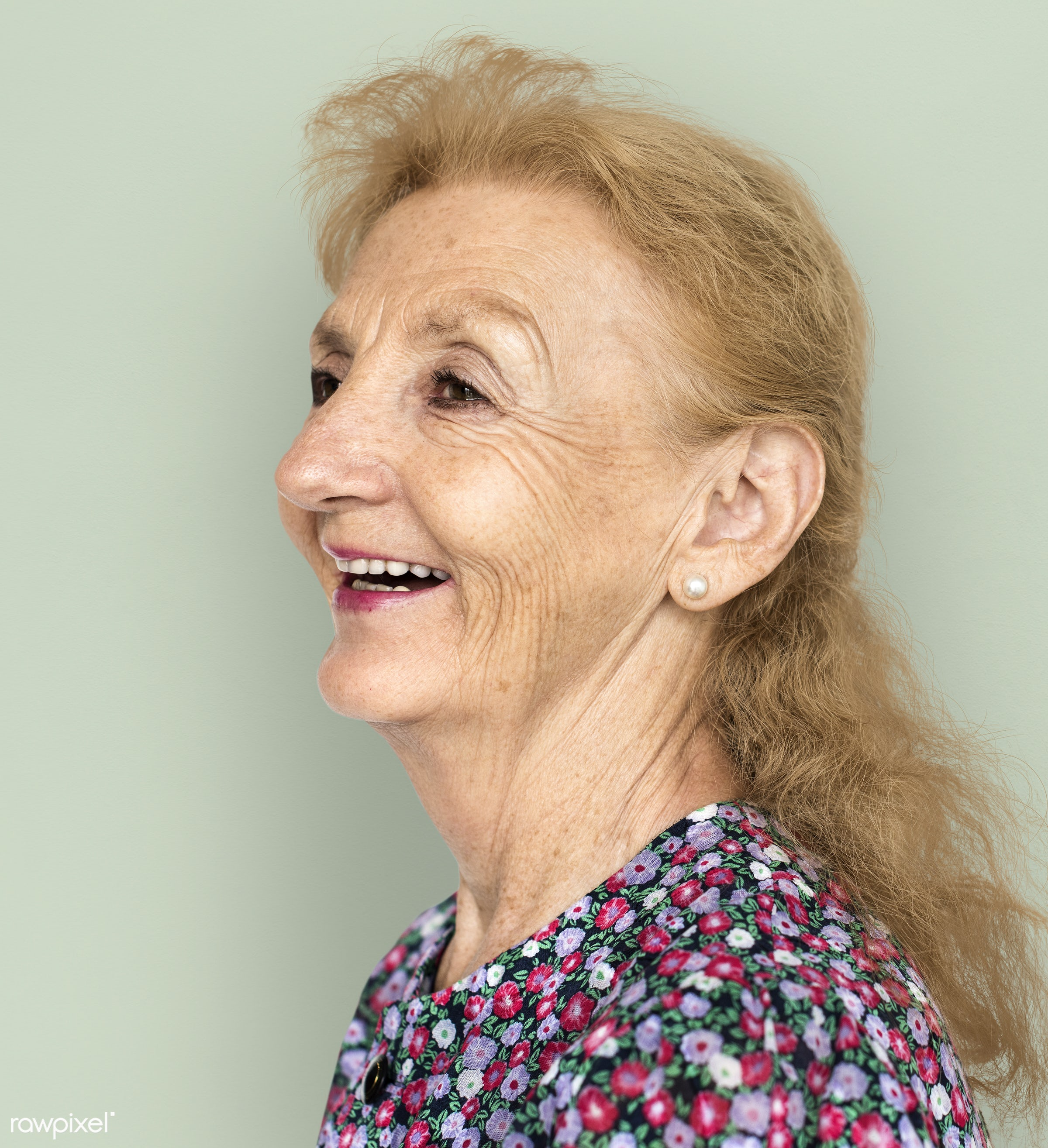 expression, studio, model, person, freedom, relax, optimistic, people, caucasian, laughing, retirement, woman, casual,...