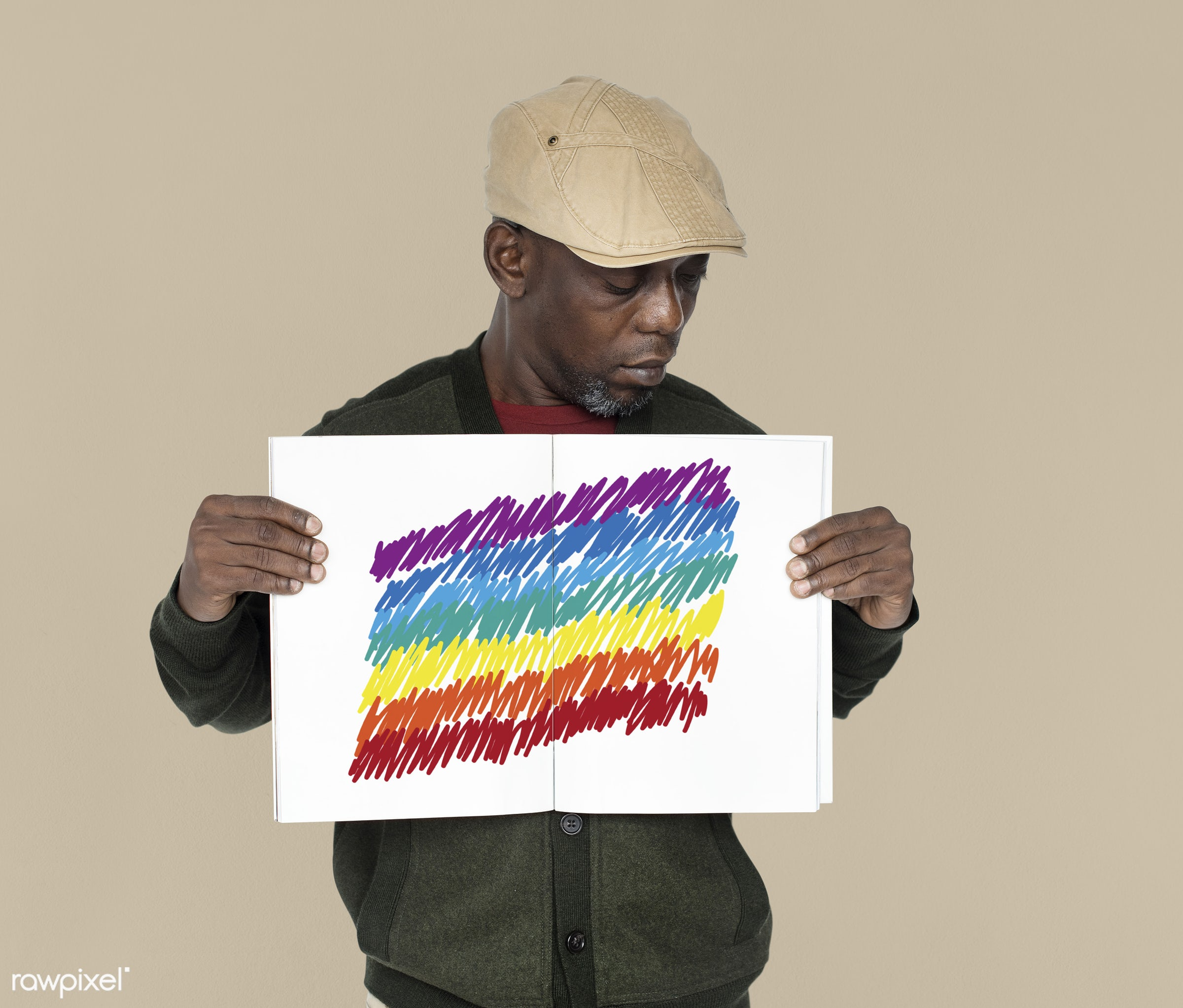 studio, expression, person, emblem, holding, people, pride, placard, empty, gender, black, isolated, symbol, african descent...