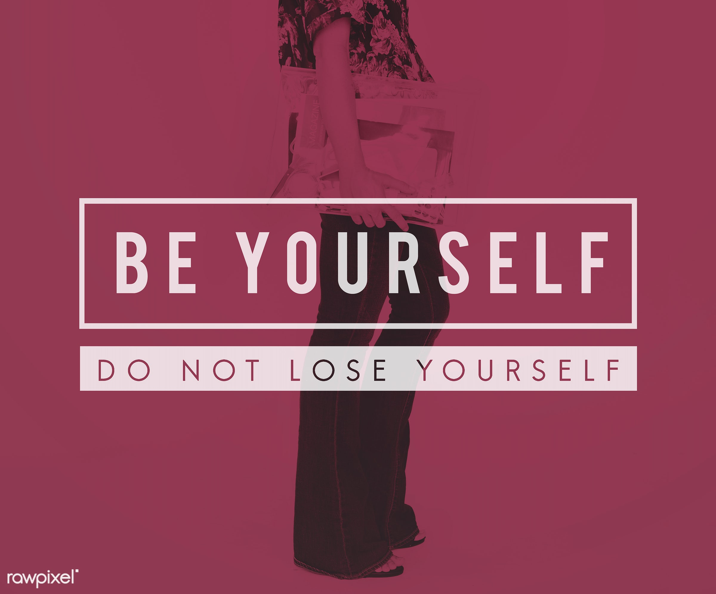 Yourself overlay word young people - adult, attractive, be yourself, belief, believe in yourself, believing, blonde,...