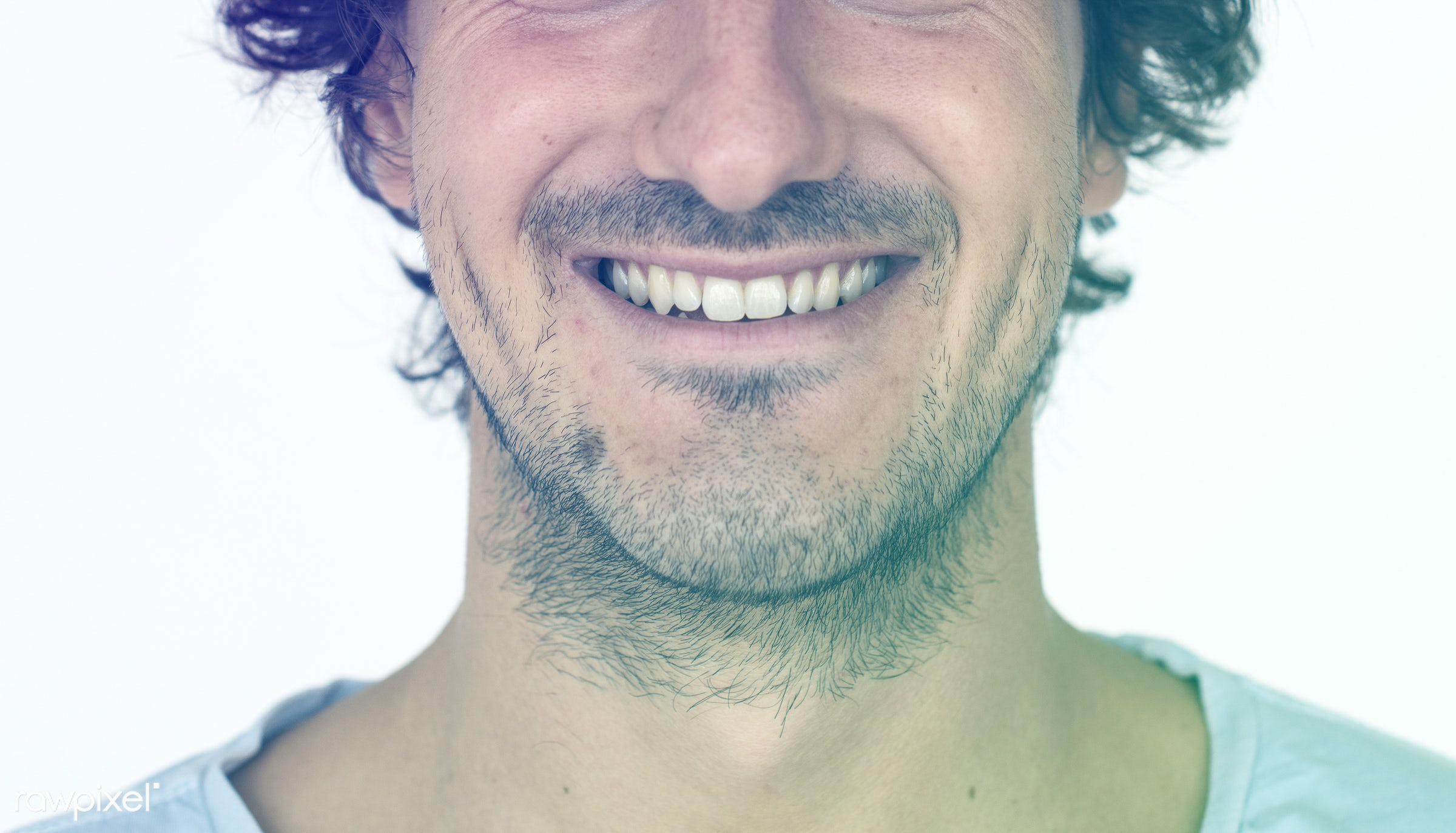 studio, expression, person, people, caucasian, lifestyle, smile, positive, cheerful, isolated, white, happiness, portrait,...