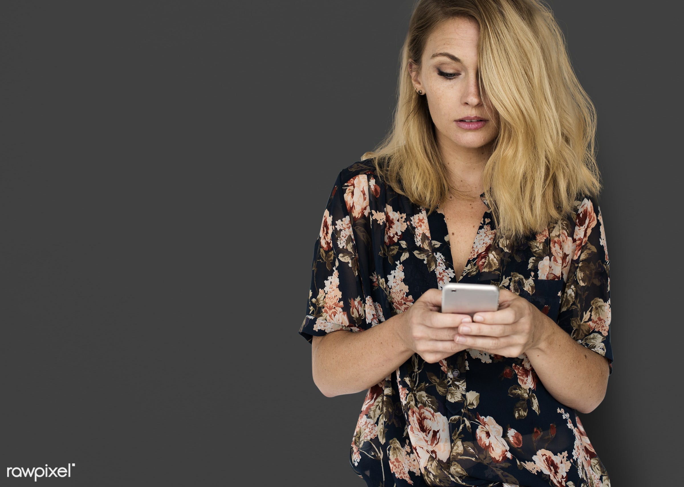 mobile phone, background, beauty, browsing, brunette, casual, charming, chatting, communication, connection, emotion,...