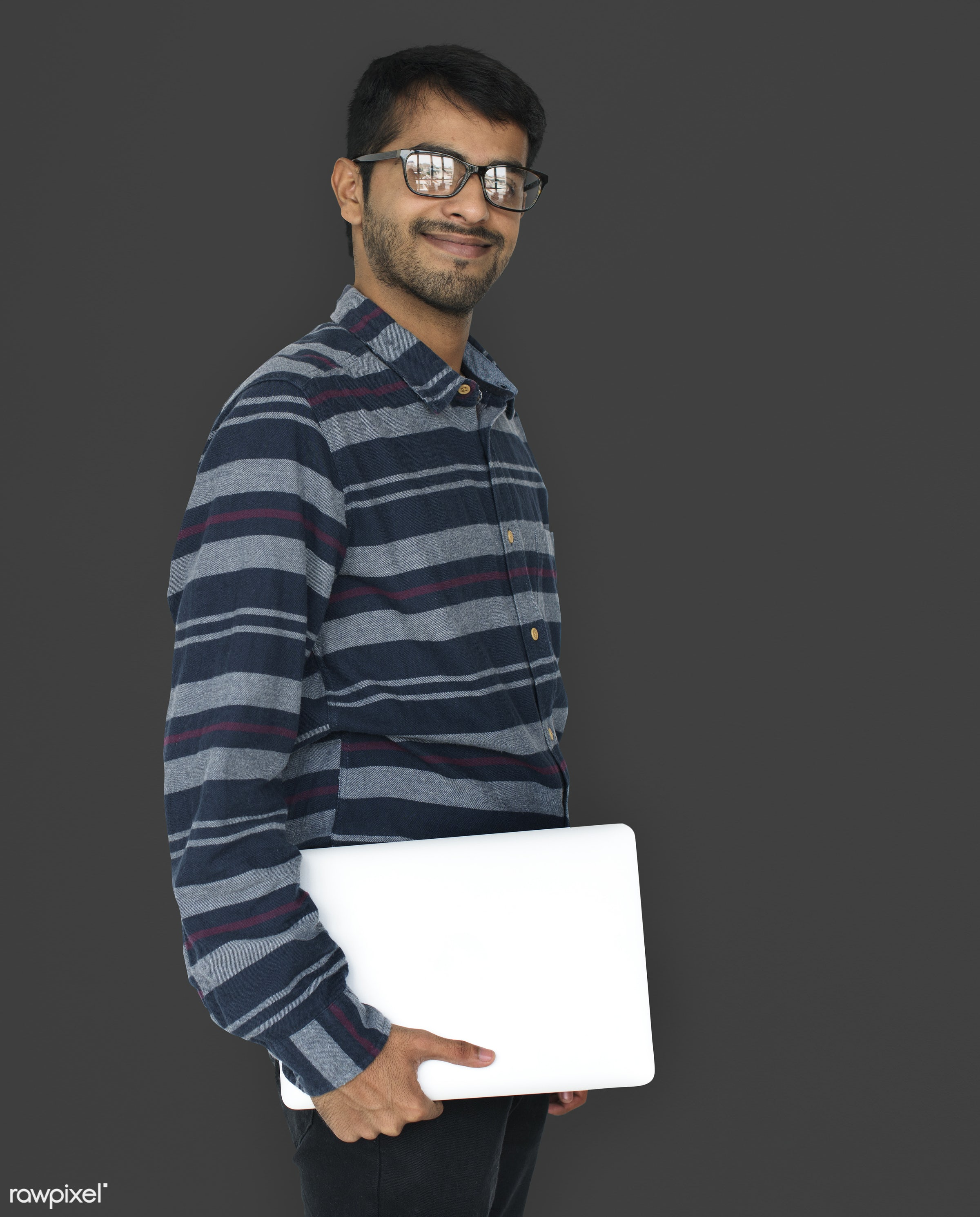 expression, person, using, white collar worker, people, laptop, working, isolated, connection, emotion, techie, internet,...