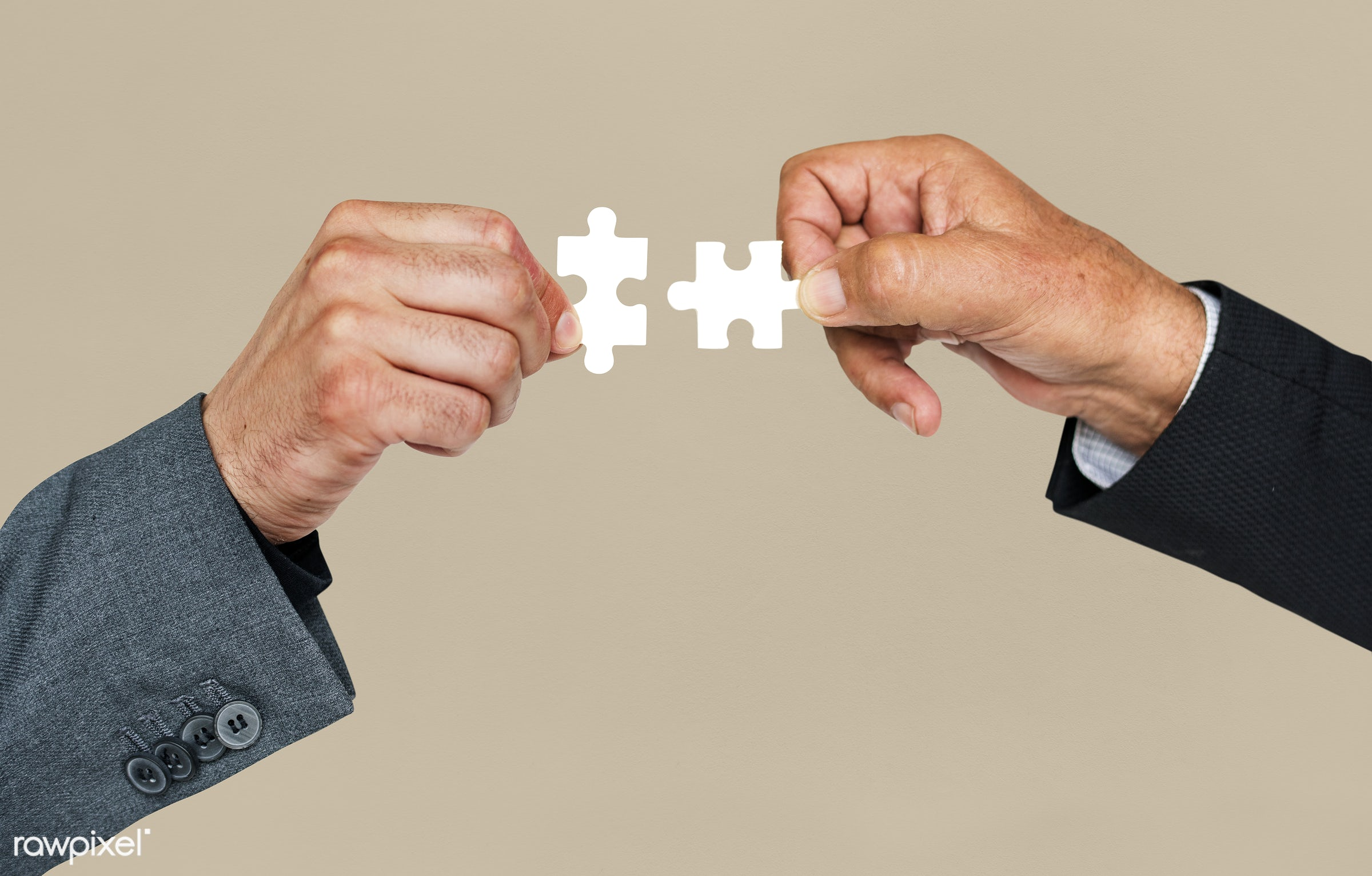 studio, jigsaw, jigsaw puzzle, holding, business, hand, corporate business, teamwork, action, cooperation, motion, move,...