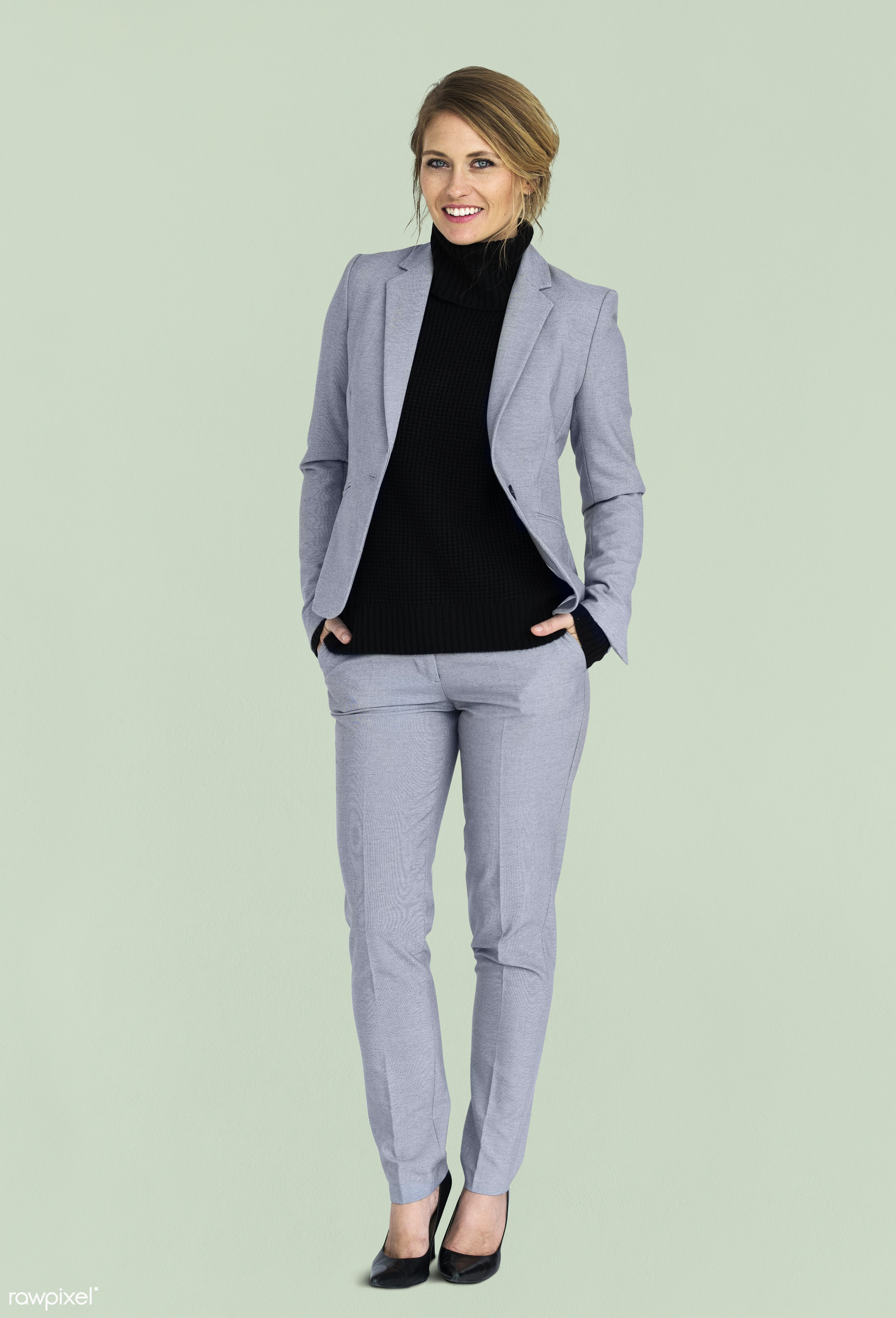 expression, studio, person, business wear, people, formal dressing, business, caucasian, girl, woman, happy, smile, cheerful...
