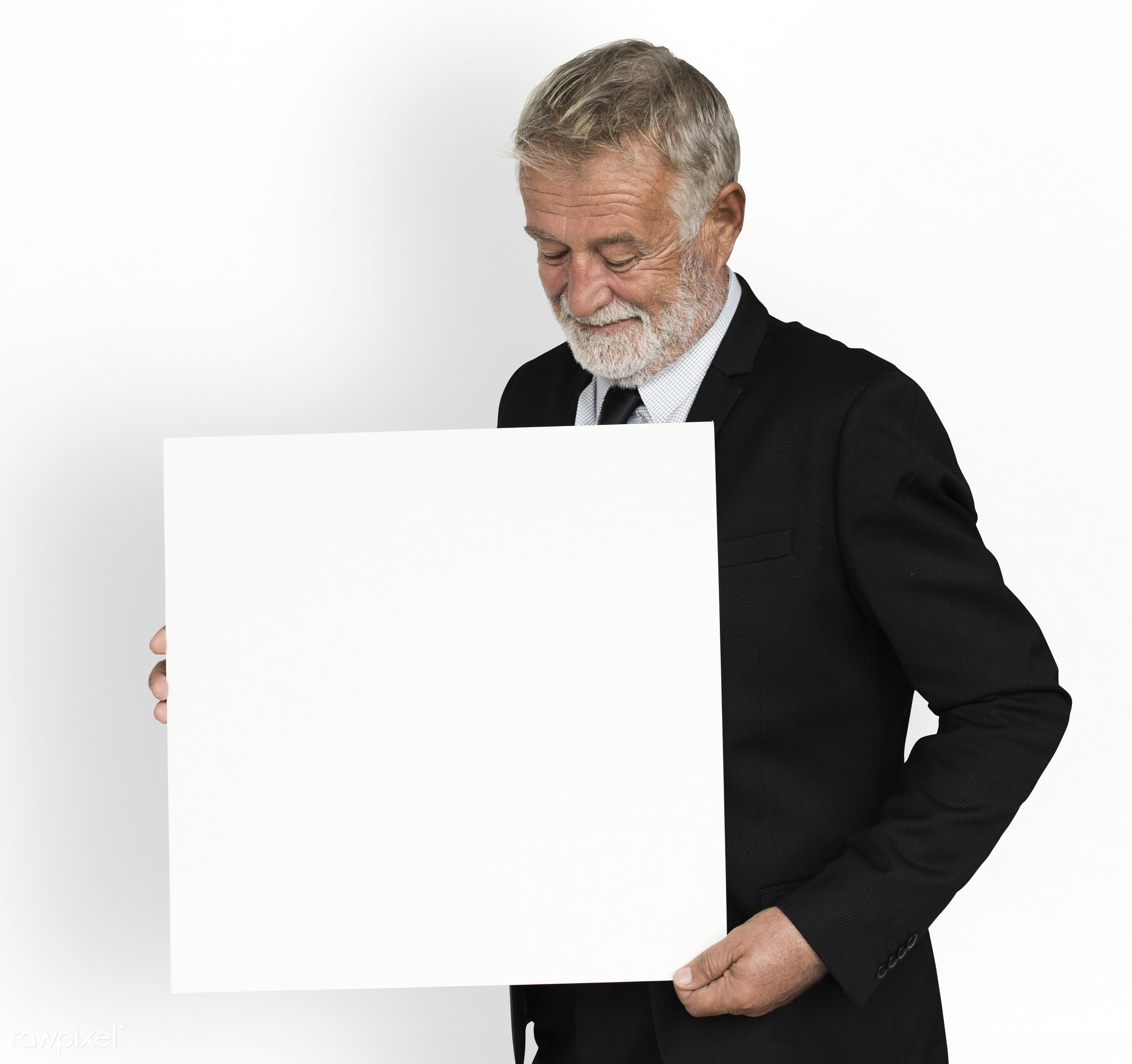 studio, expression, person, holding, show, briefing, people, caucasian, smile, smiling, formal attire, isolated, business...