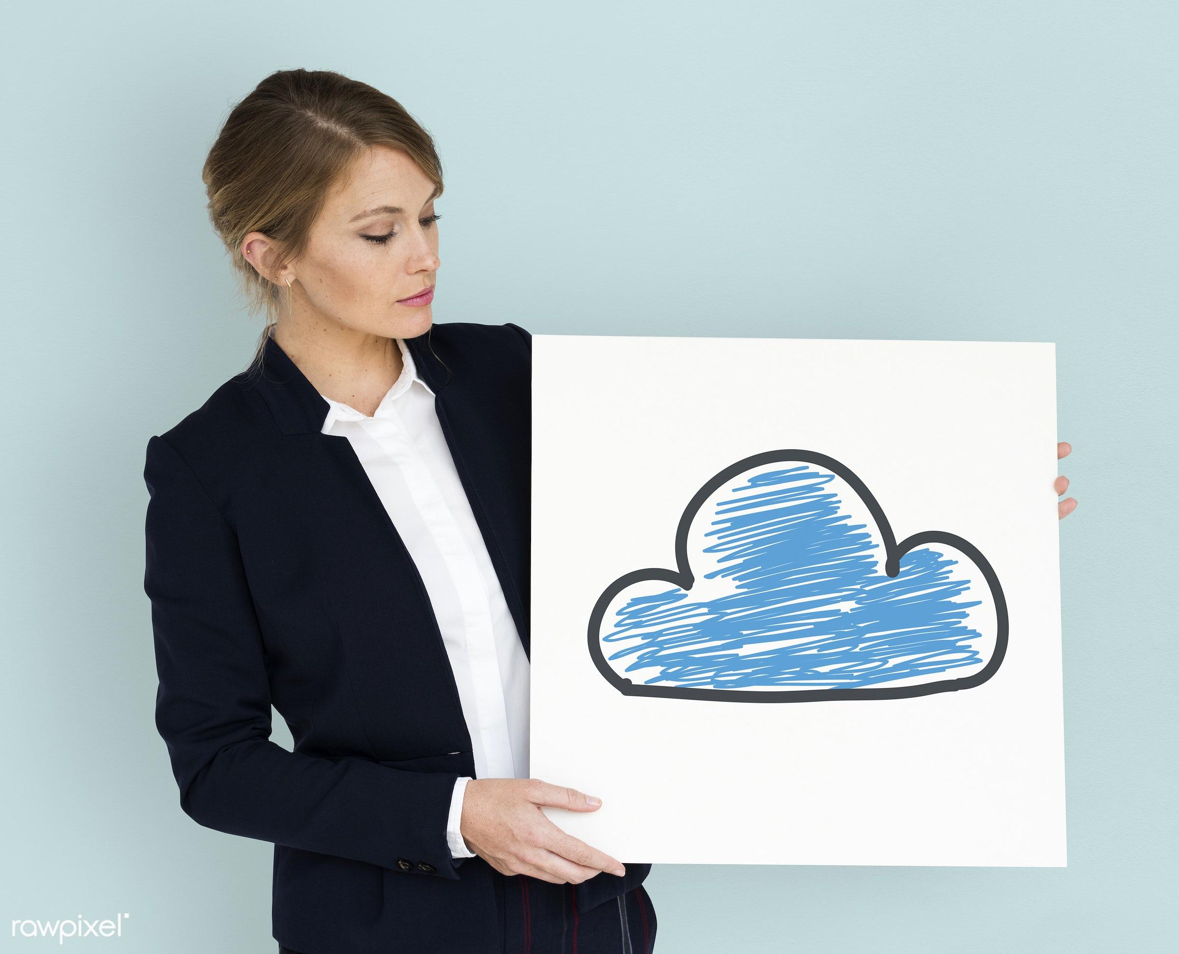 background, business, business attire, business wear, business woman, cloud, communication, computing, connection, control,...