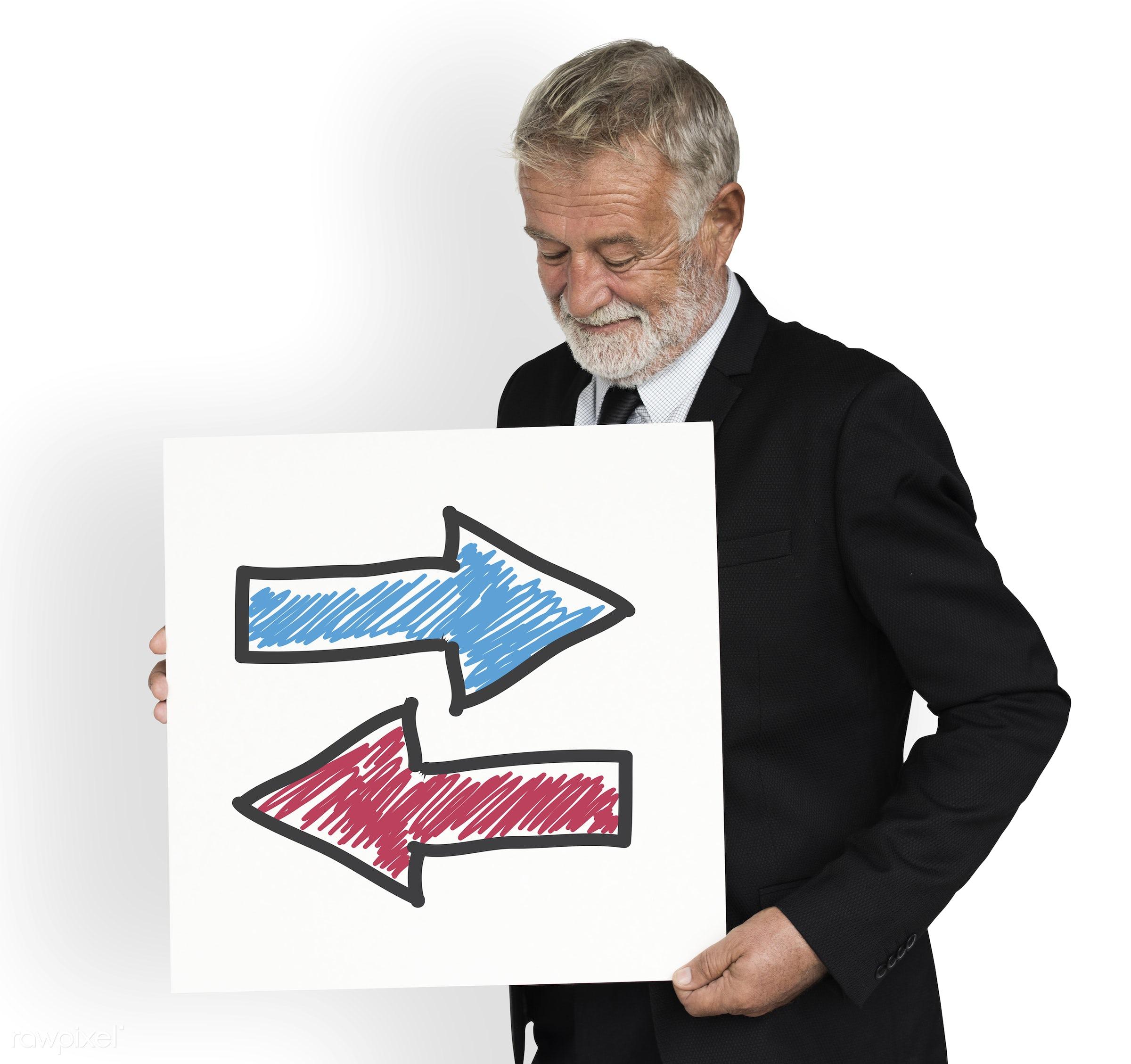 arrows, background, briefing, business, business attire, business man, business wear, cloud, communication, concept,...