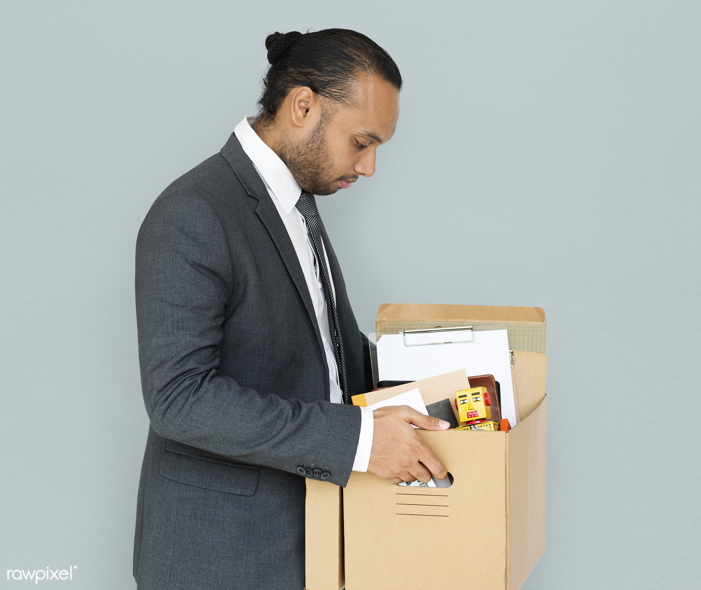 box, asian, background, business, business attire, business man, business wear, depressed, emotion, expression, fired,...