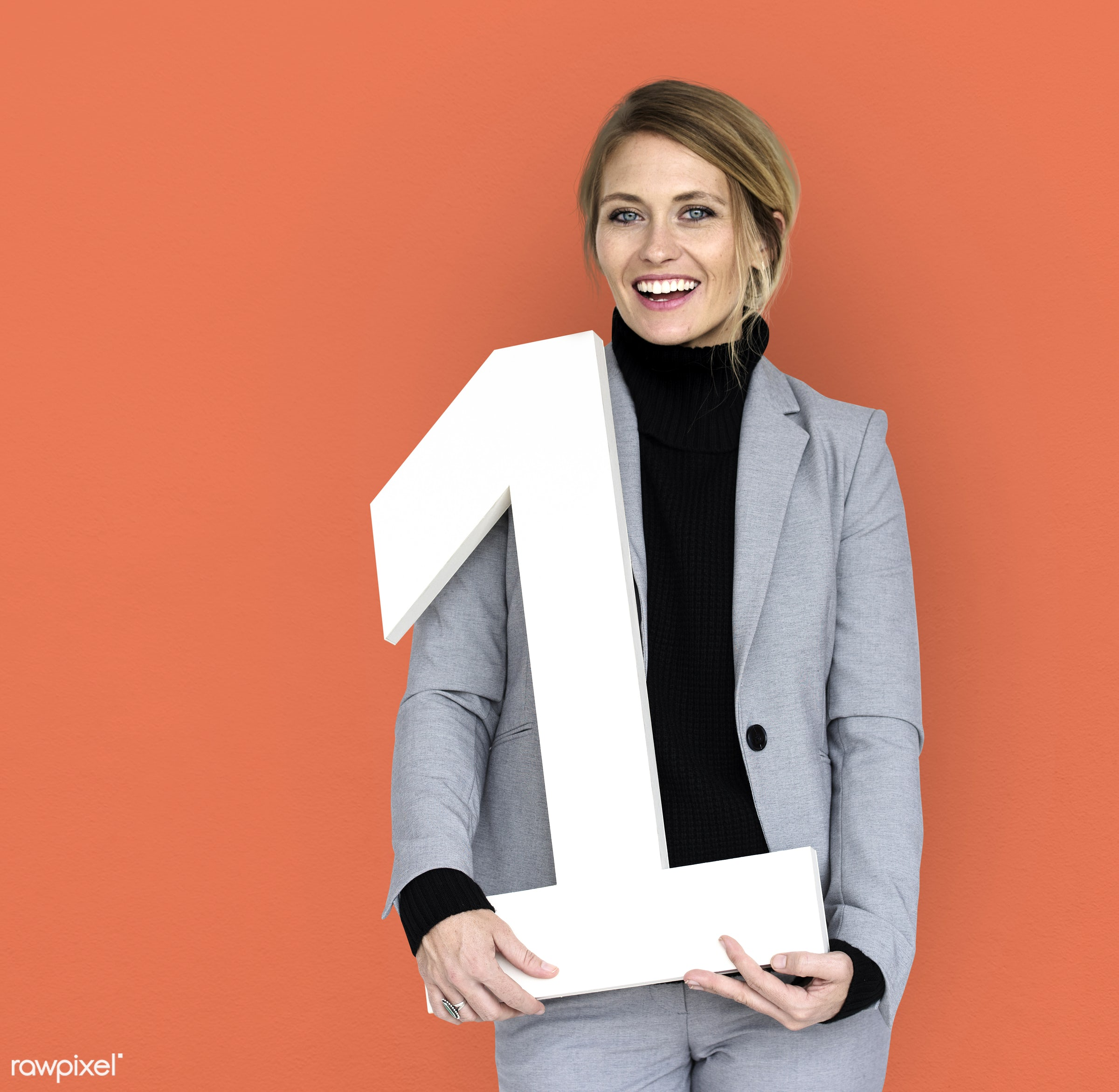number one, achieve, background, blonde, business attire, business wear, business woman, cheerful, expression, female,...