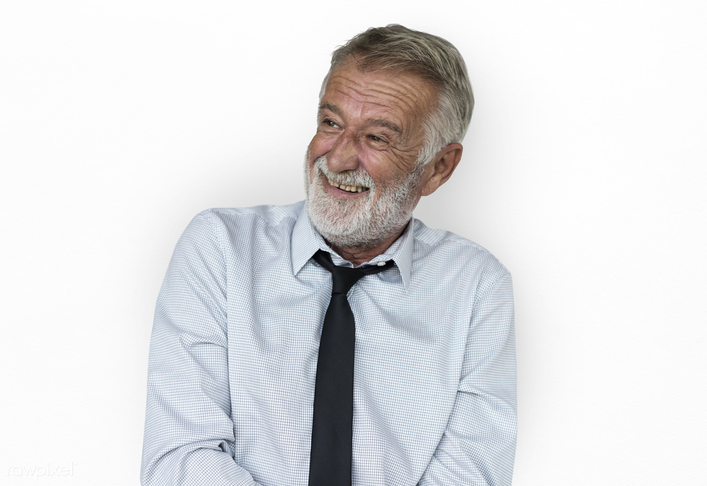 expression, studio, old, person, business wear, isolated on white, joy, people, caucasian, joyous, happy, smile, cheerful,...