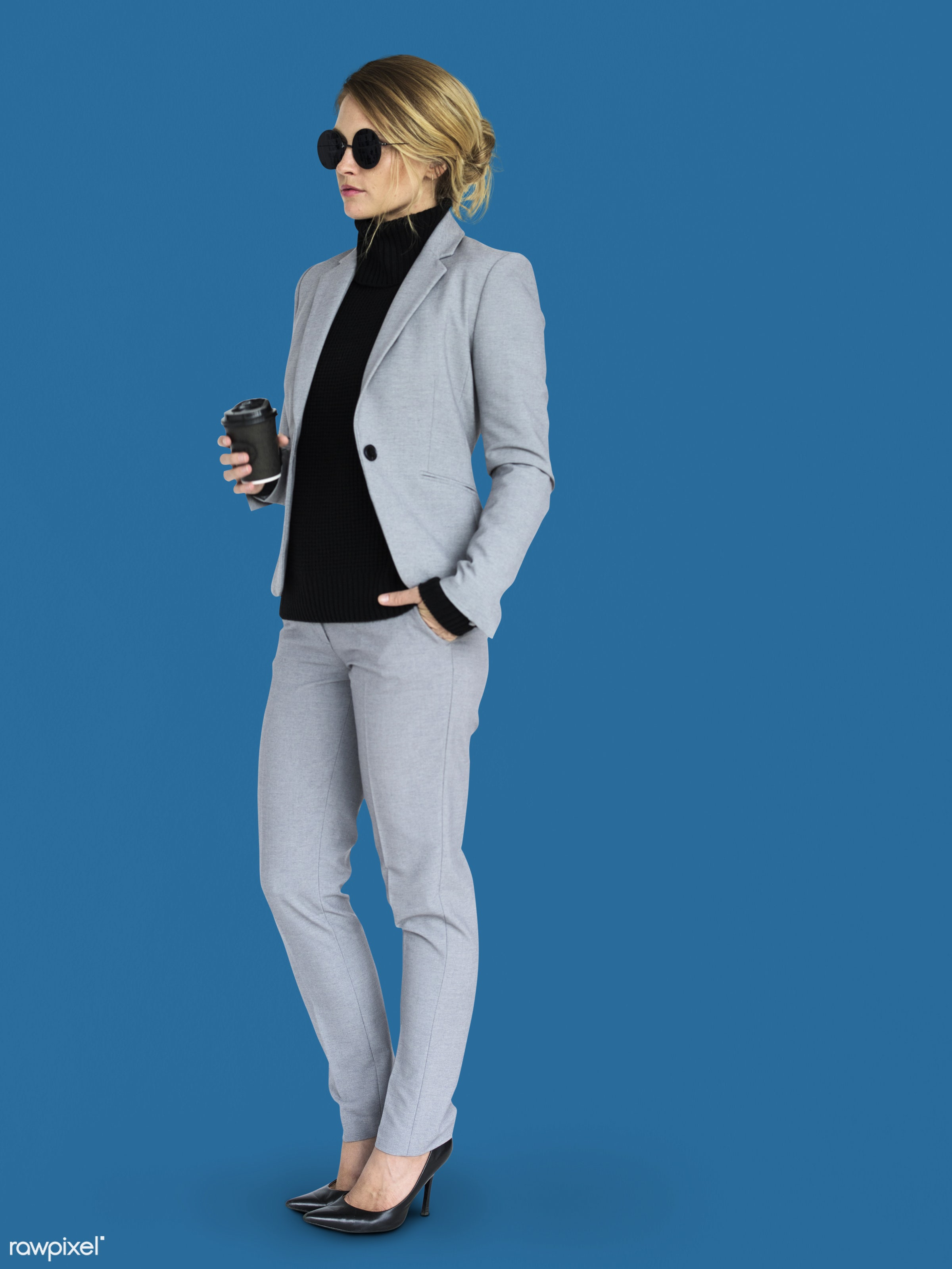 background, business attire, business wear, business woman, candid, caucasian, coffee, emotion, expression, female, formal,...
