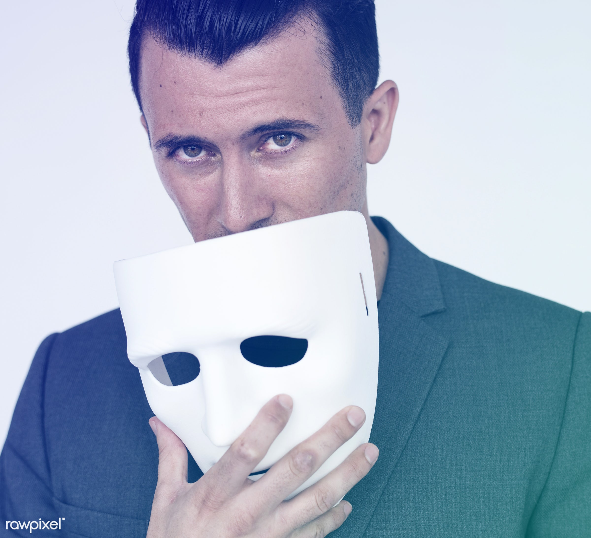 studio, expression, person, spy, masquerade, mask, people, caucasian, cover, hide, lifestyle, alone, isolated, mysterious,...