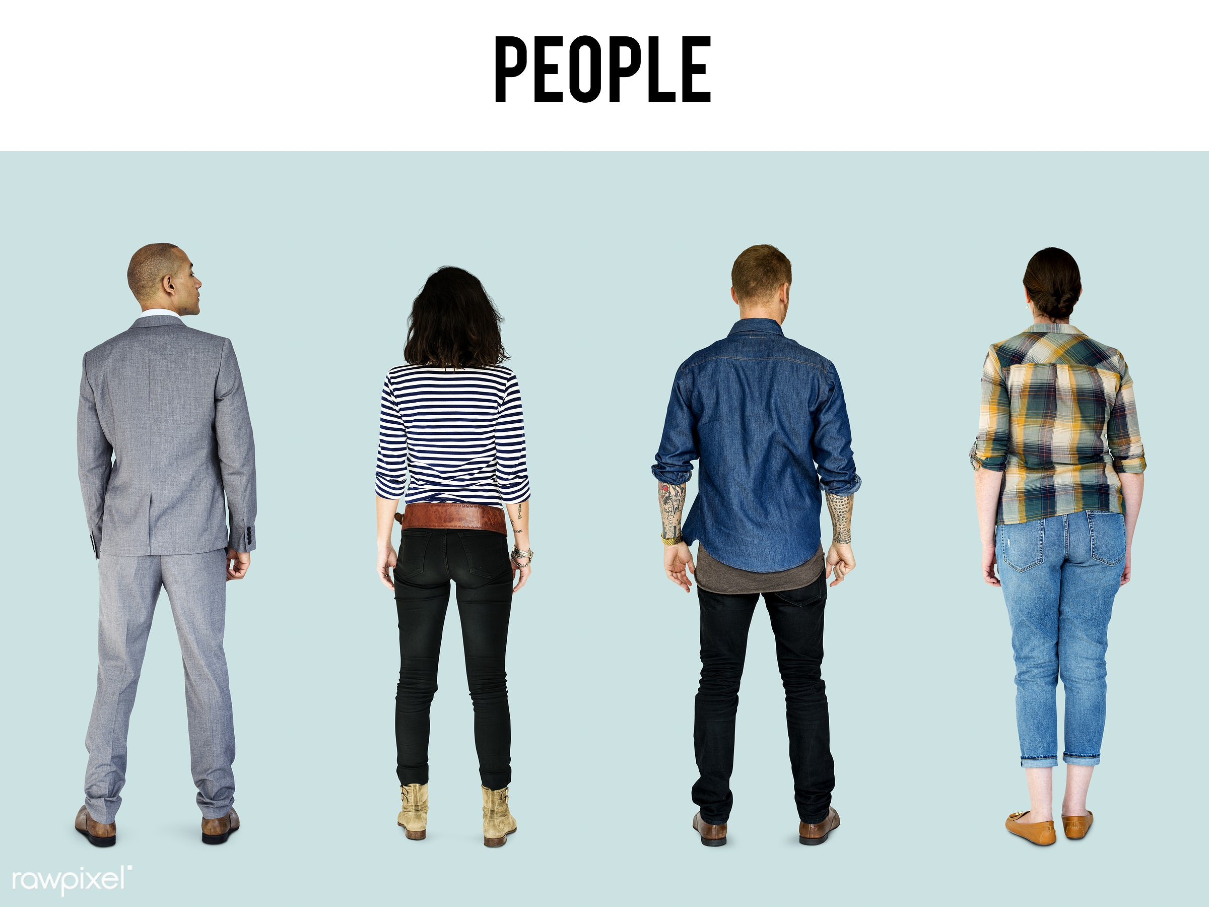 gentlemen, studio, person, diverse, set, collection, people, attraction, together, caucasian, life, woman, attractive,...