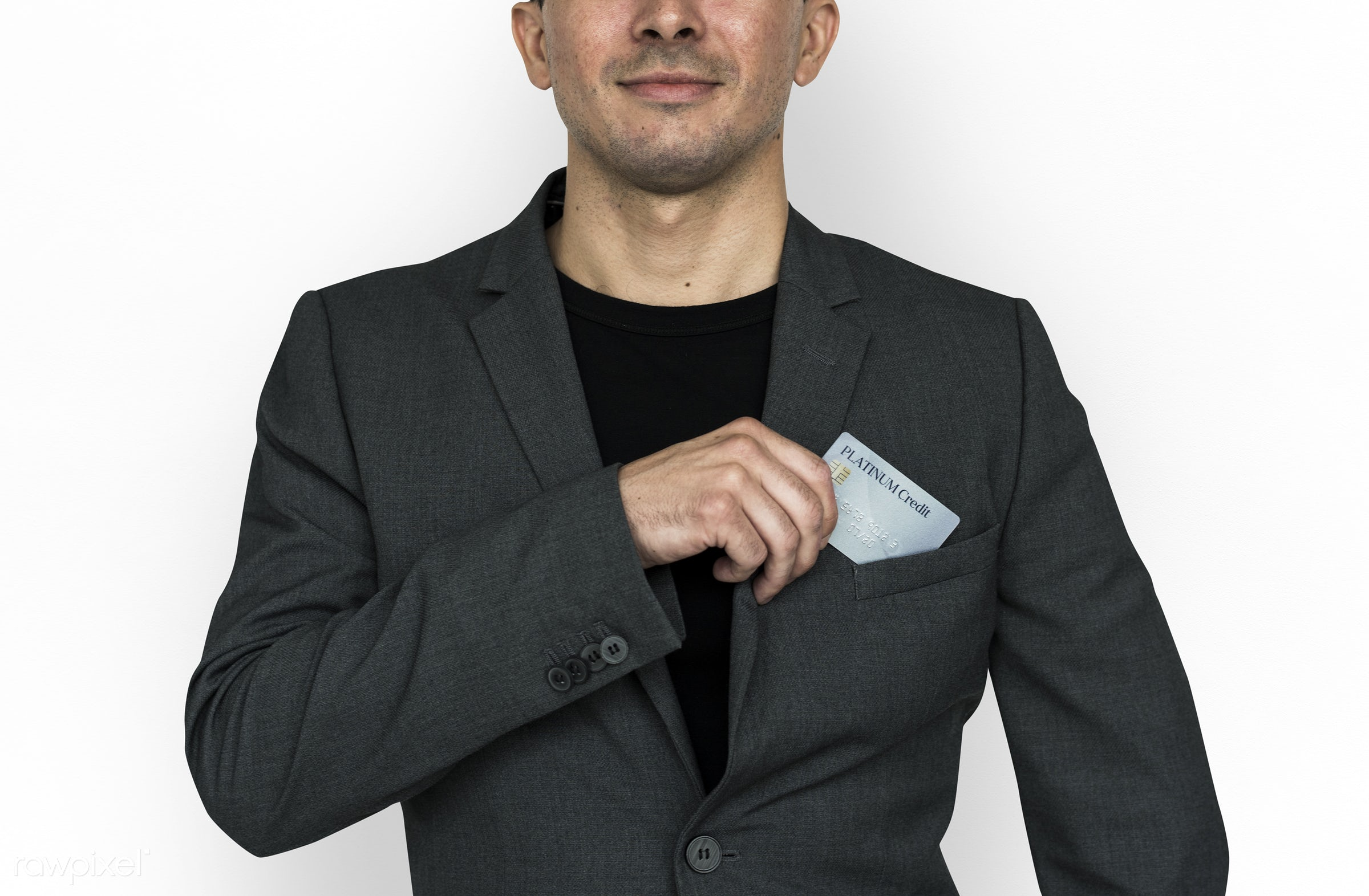 studio, expression, person, business wear, people, formal dressing, business, caucasian, card, smile, credit, smiling, man,...