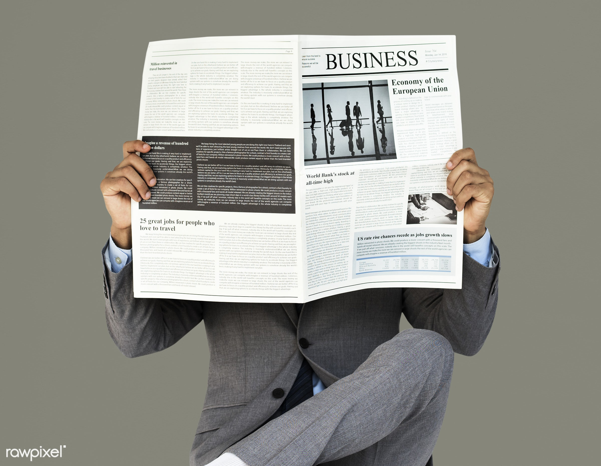 expression, studio, person, reading, business newspaper, business wear, people, formal dressing, business, read, man, formal...