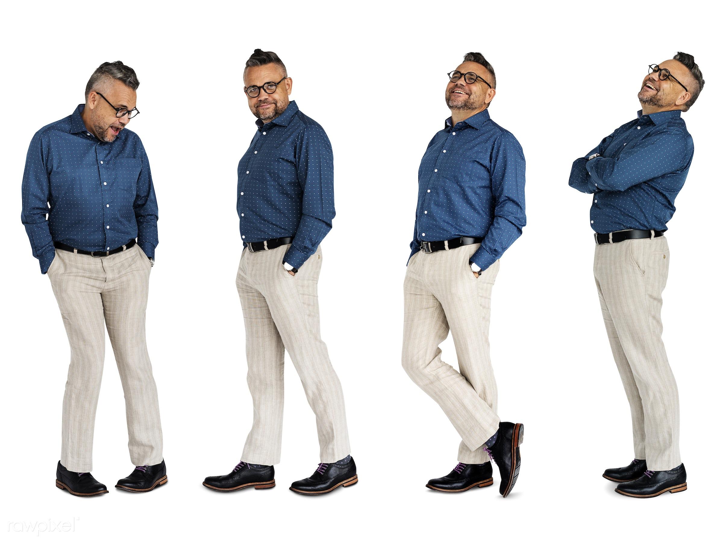 adult, attraction, attractive, casual, cheerful, collection, diverse, diversity, ethnicity, eyeglasses, gentlemen, gesture,...