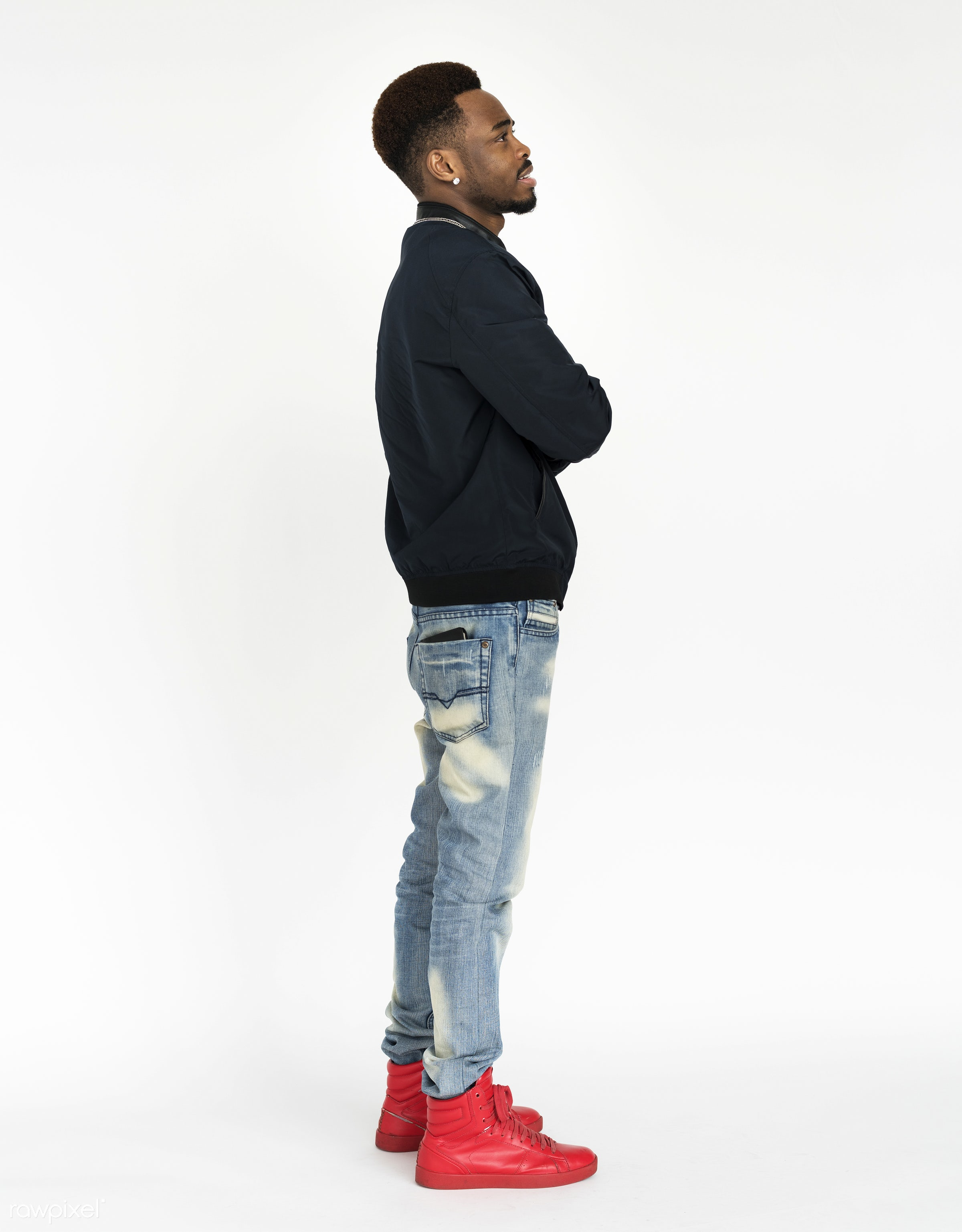 expression, studio, fashion, model, person, full length, isolated on white, hip hop, trendy, race, people, style, lifestyle...
