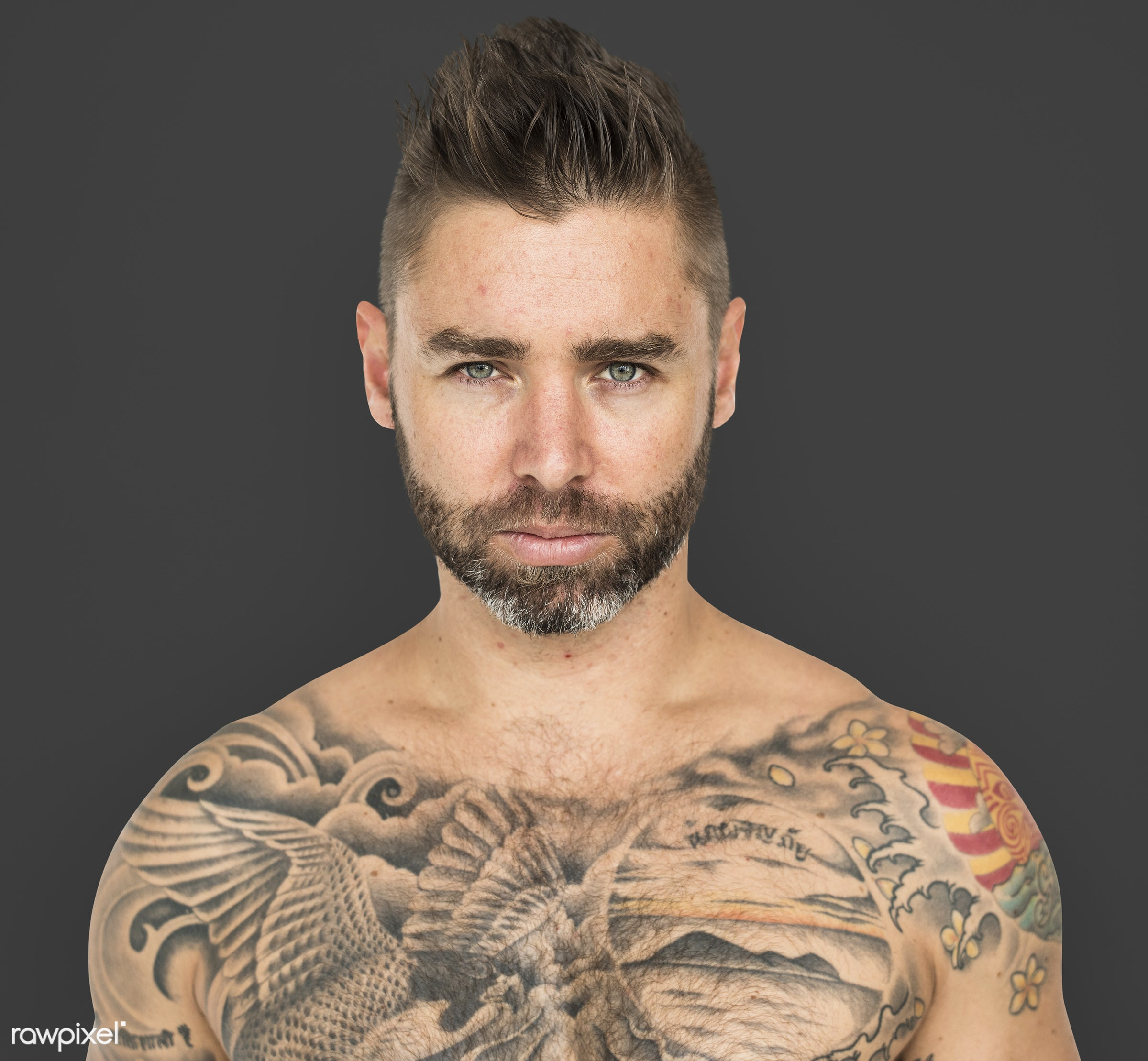 adult, background, bare chest, beard, chest, design, emotion, expression, facial, fit, isolated, male, man, mood, moustache...