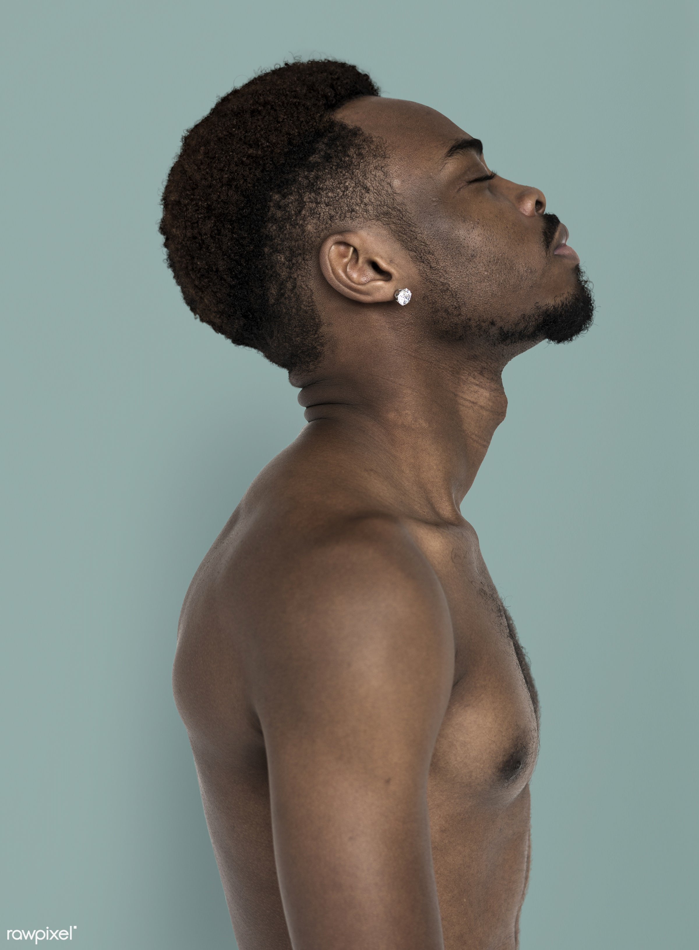 expression, studio, face, body, person, people, face expression, look up, men, man, isolated, think, faith, male, stress,...