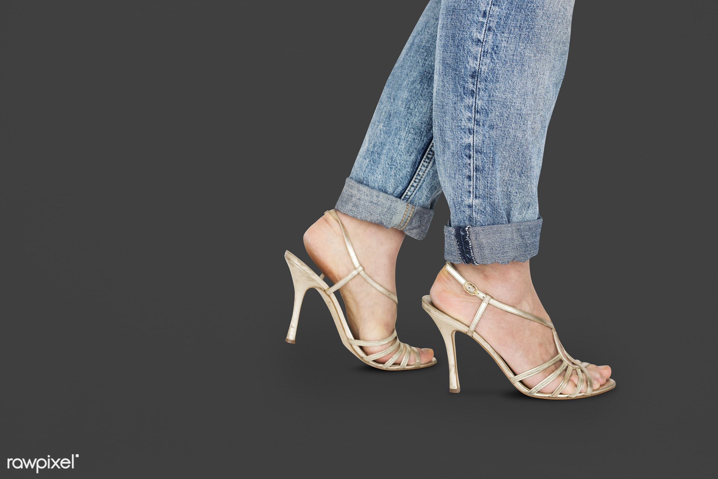 studio, fashion, model, person, people, race, style, solo, woman, lifestyle, casual, feminism, shoes, isolated, jeans,...