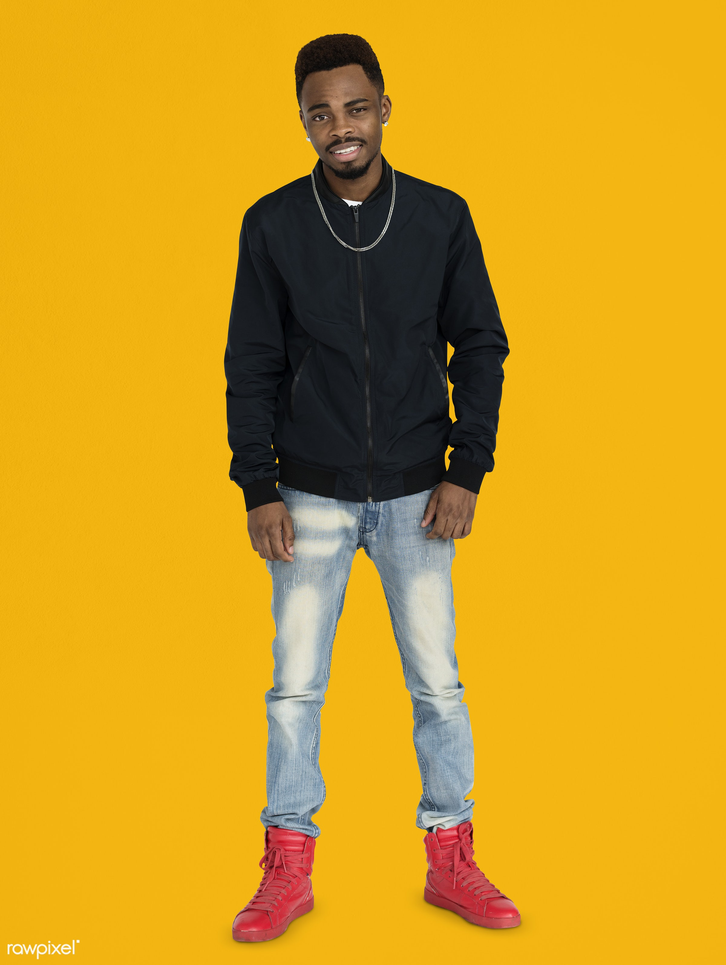 studio, expression, face, person, joy, yellow, people, style, solo, fresh, happy, casual, smile, cheerful, man, smiling,...