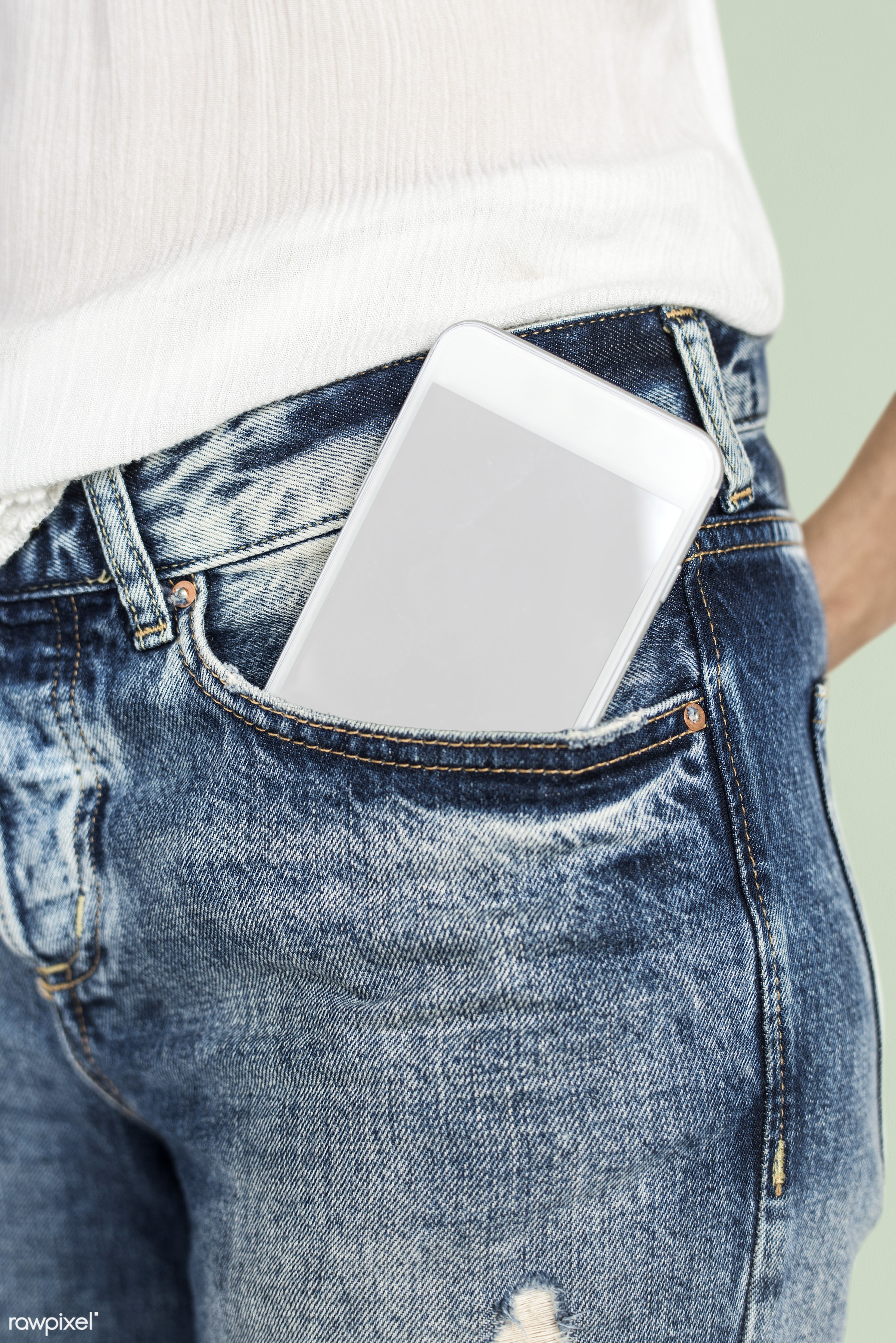 digital device, body, copy space, person, portable, technology, pants, hip, device screen, equipment, people, wireless...