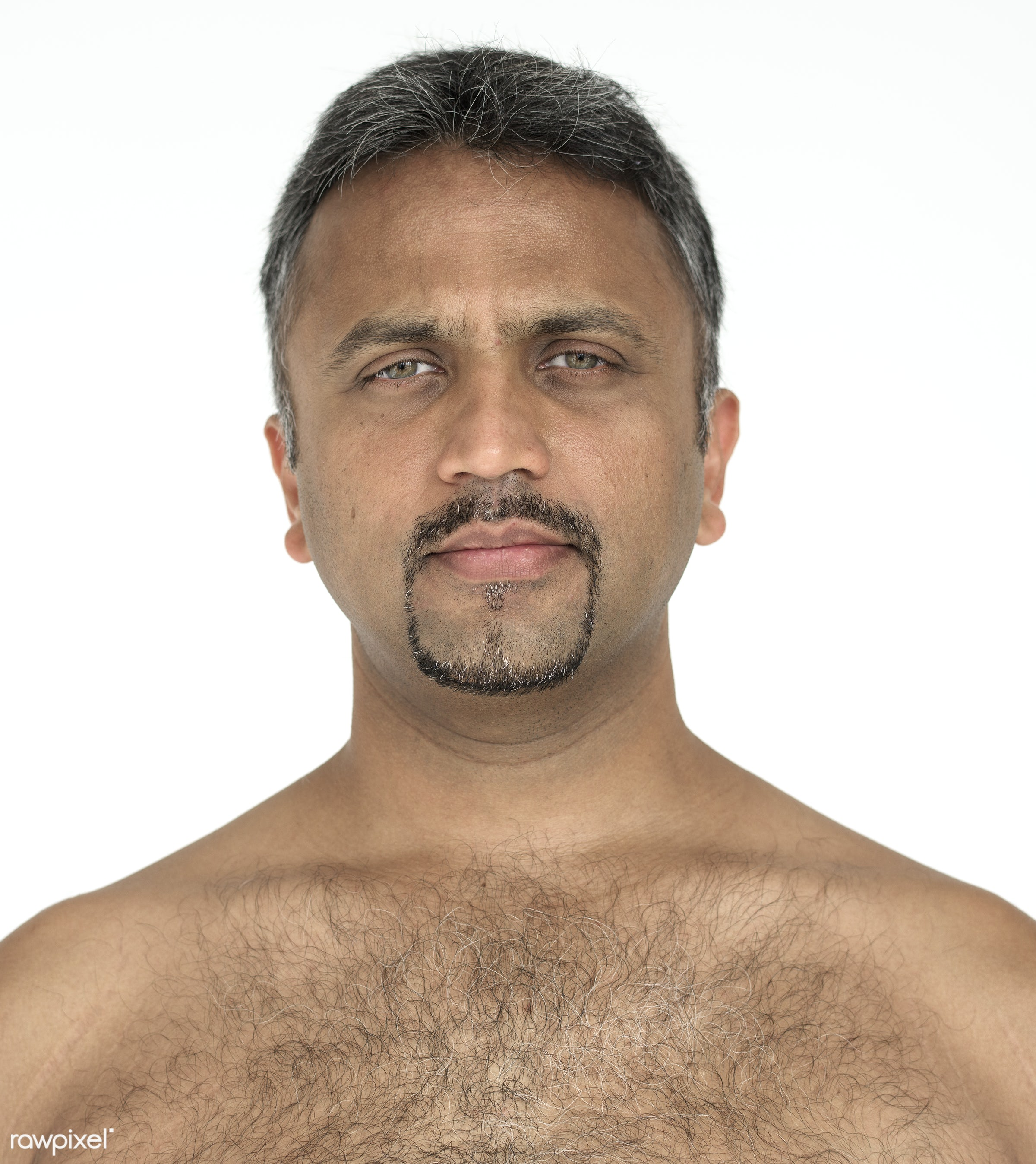 expression, studio, person, indian ethnicity, one, chest, people, race, style, pensive, lifestyle, serious, hair, man,...