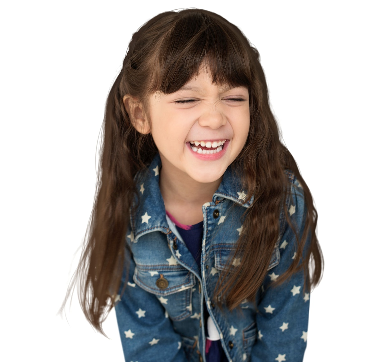 Young Girl Smile Laugh Happiness