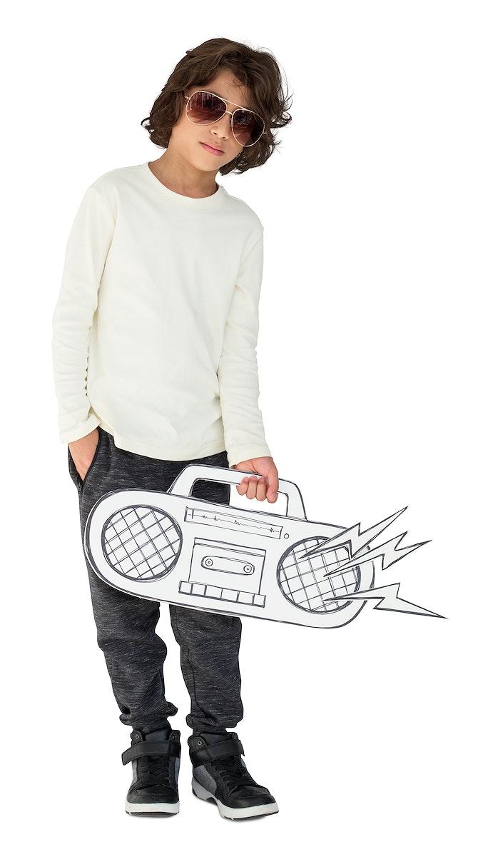 Studio People Model Shoot Kid Boy