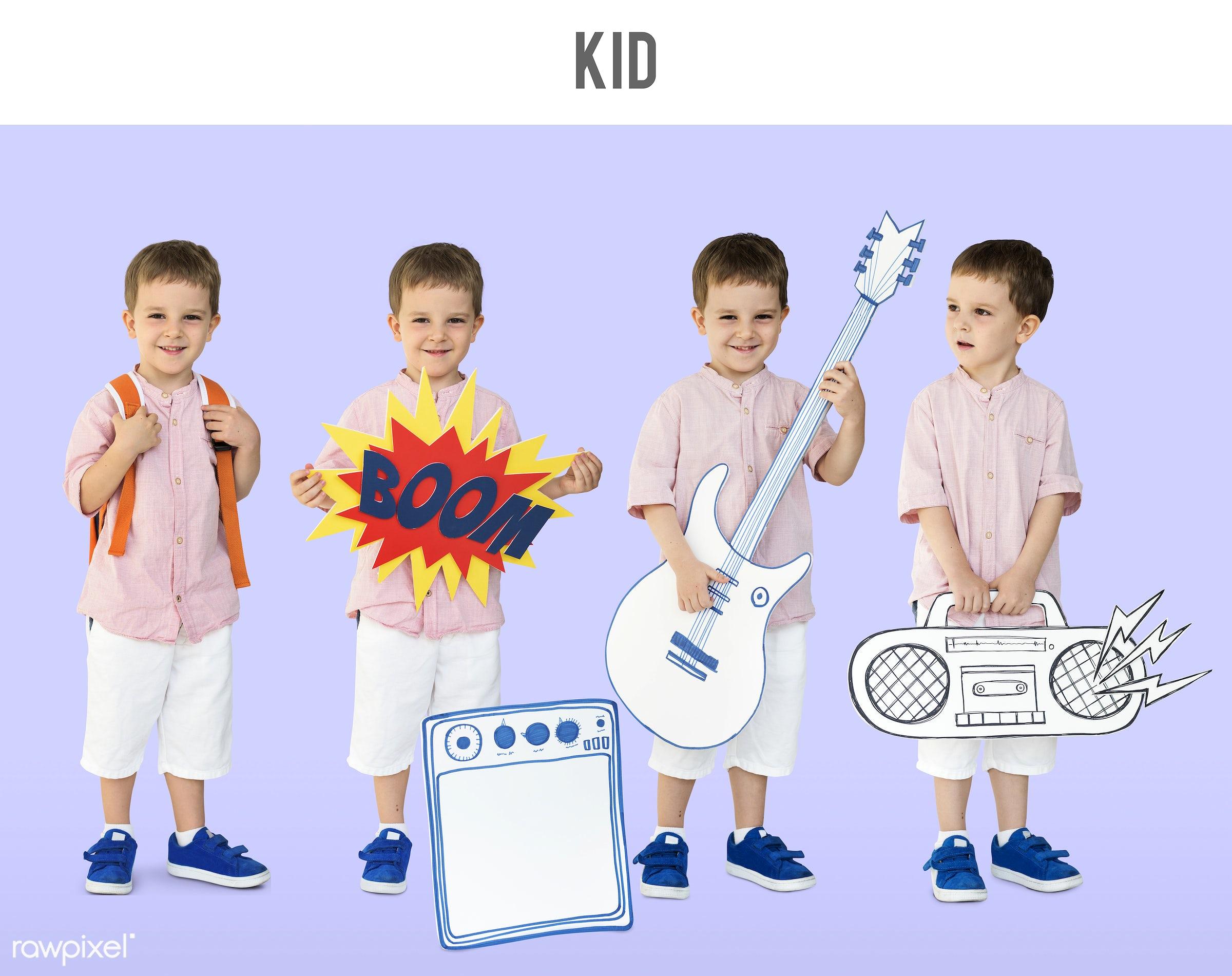 studio, person, paper, children, little, entertain, people, kid, caucasian, child, solo, boys, studio squareset, childhood,...