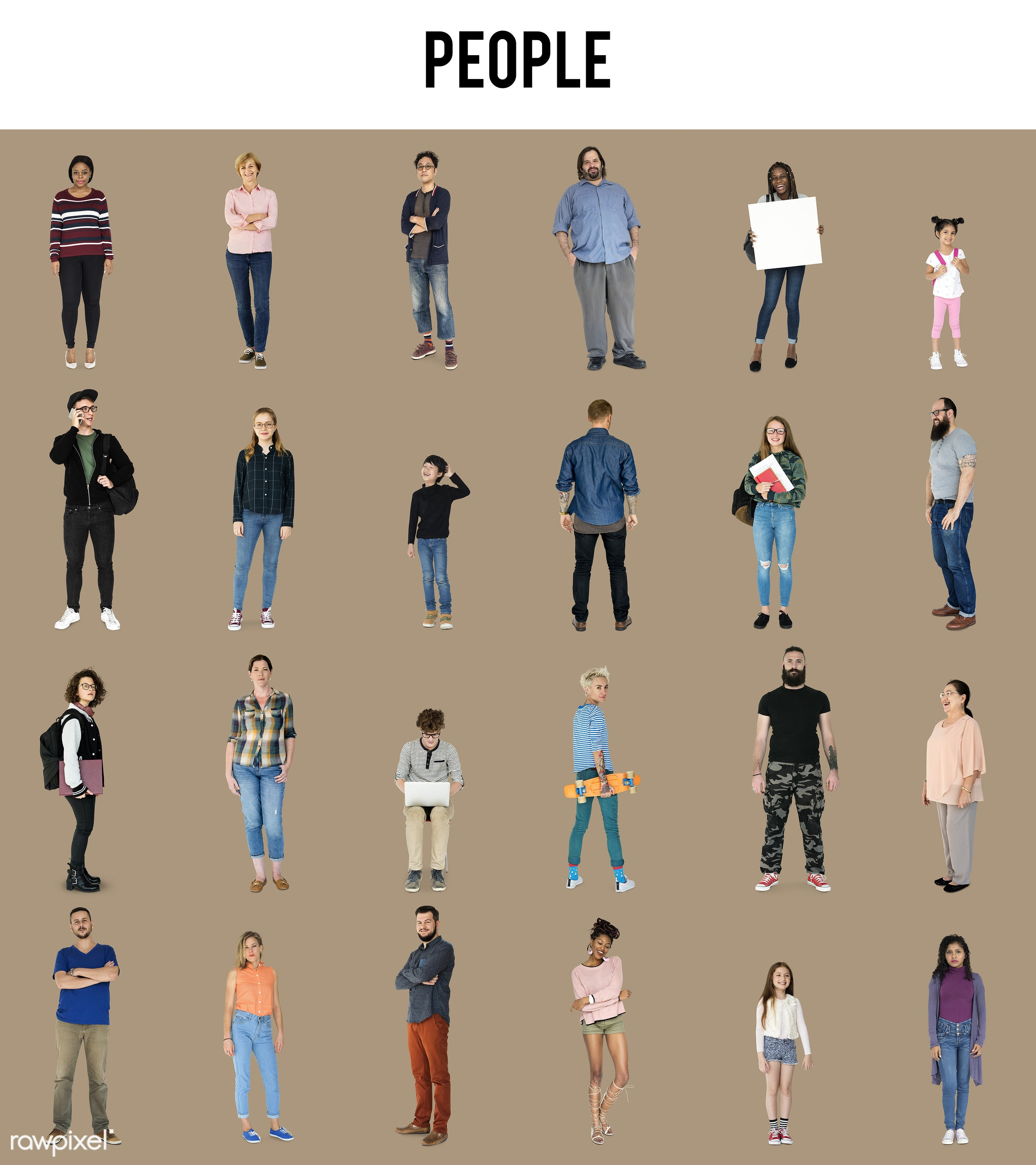 adult, african, asian, background, black, boy, casual, caucasian, children, collection, community, concept, crowd, different...